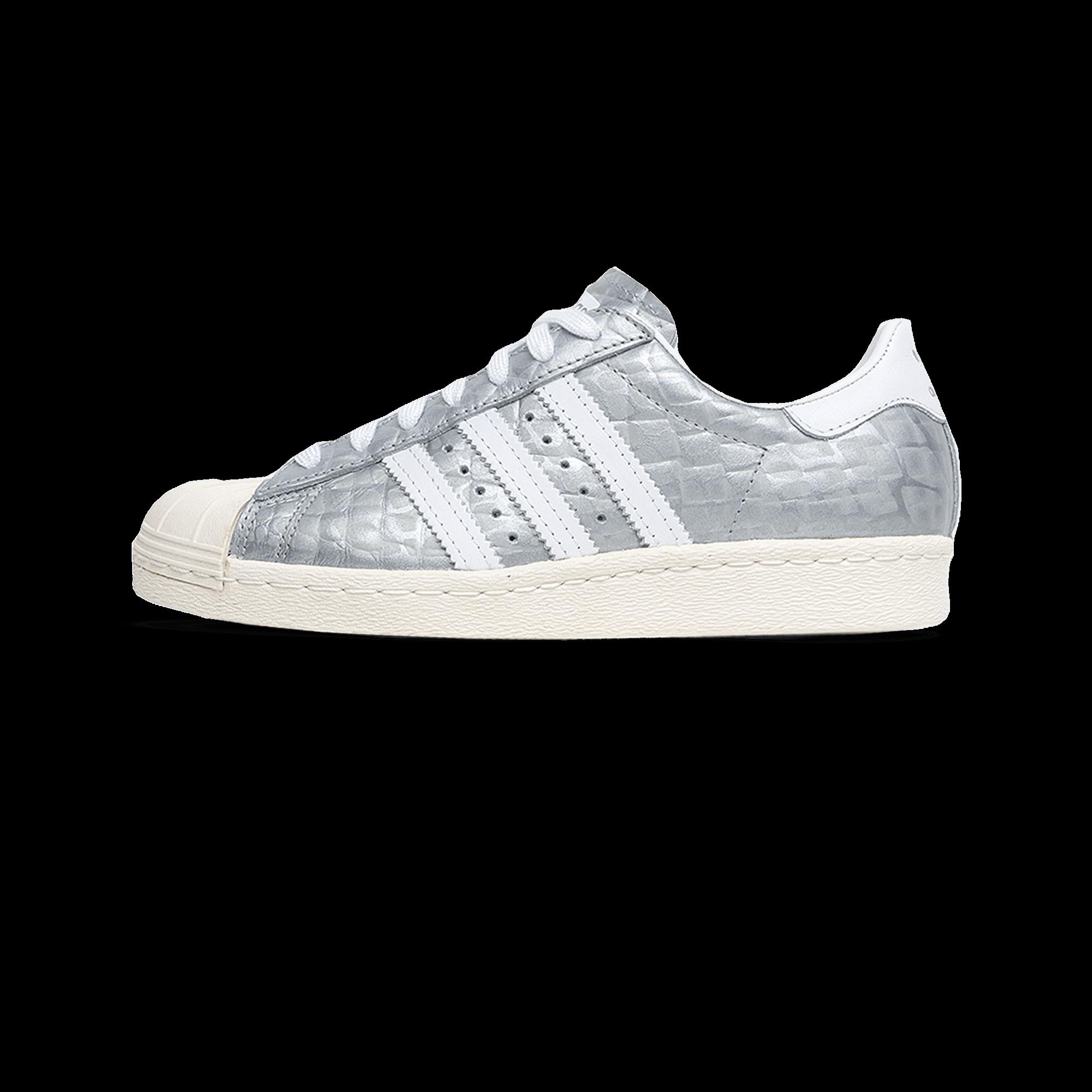 Adidas Crock Woman Silver 80s Superstar c5ASj4Lq3R