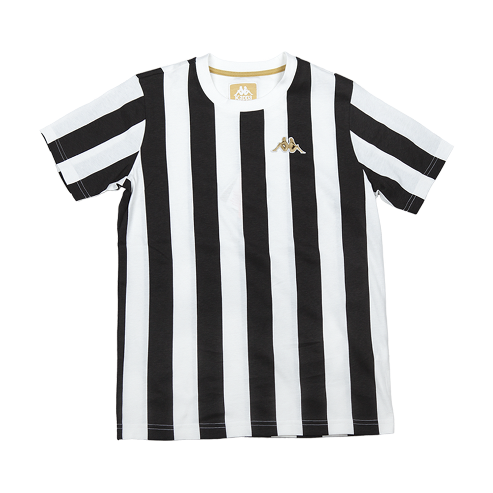 Black t shirt with white stripes - Authentic Stripes T Shirt White Black
