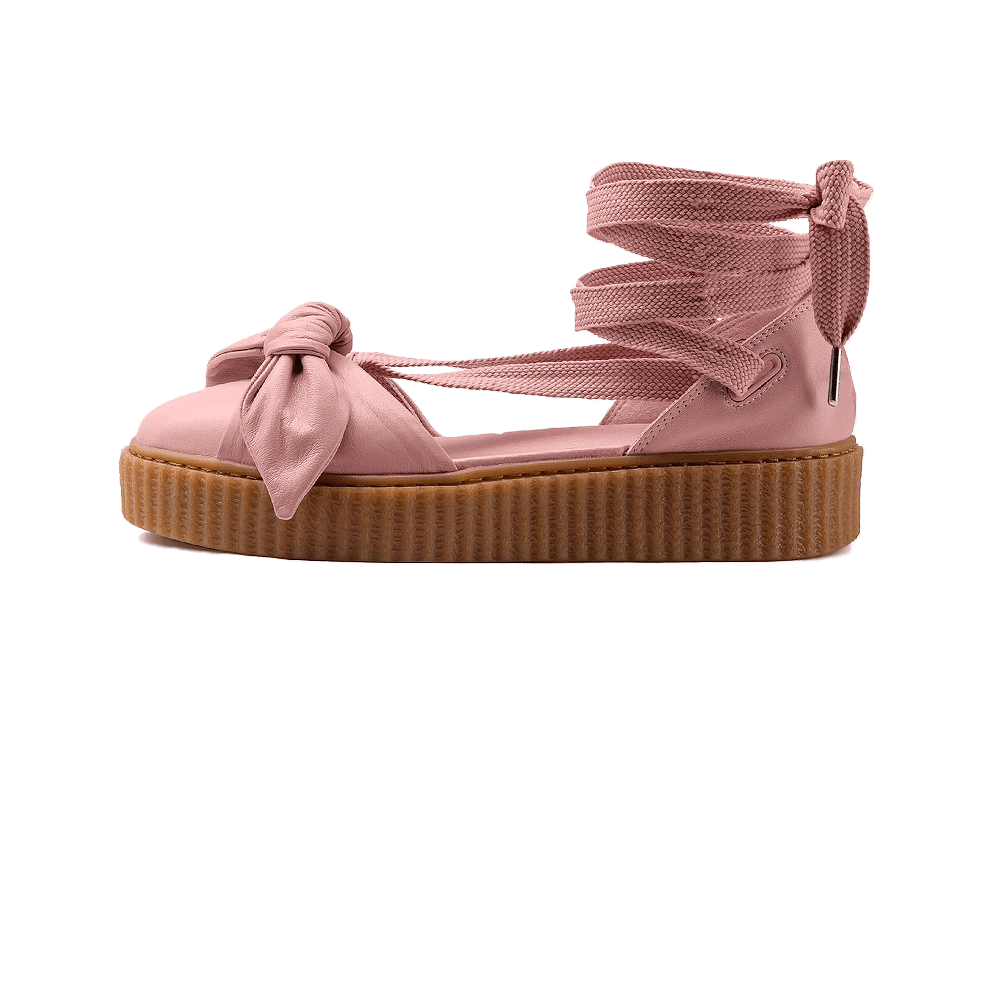 huge selection of 3dd63 9d2ee Puma Fenty by Rihanna Bow Creeper Sandal pink/gum - Woman | Holypopstore.com