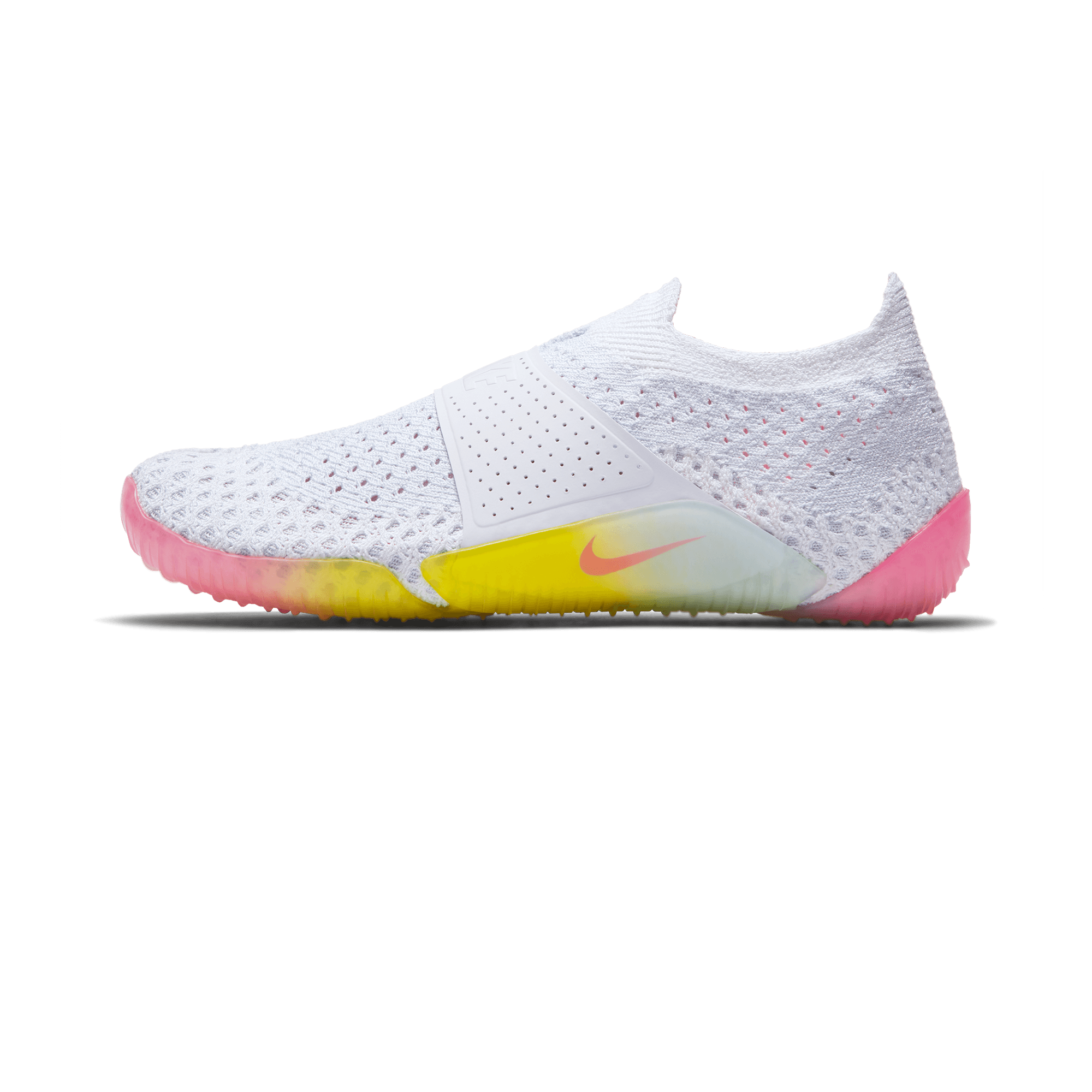 City Knife 3 Flyknit white/racer pink
