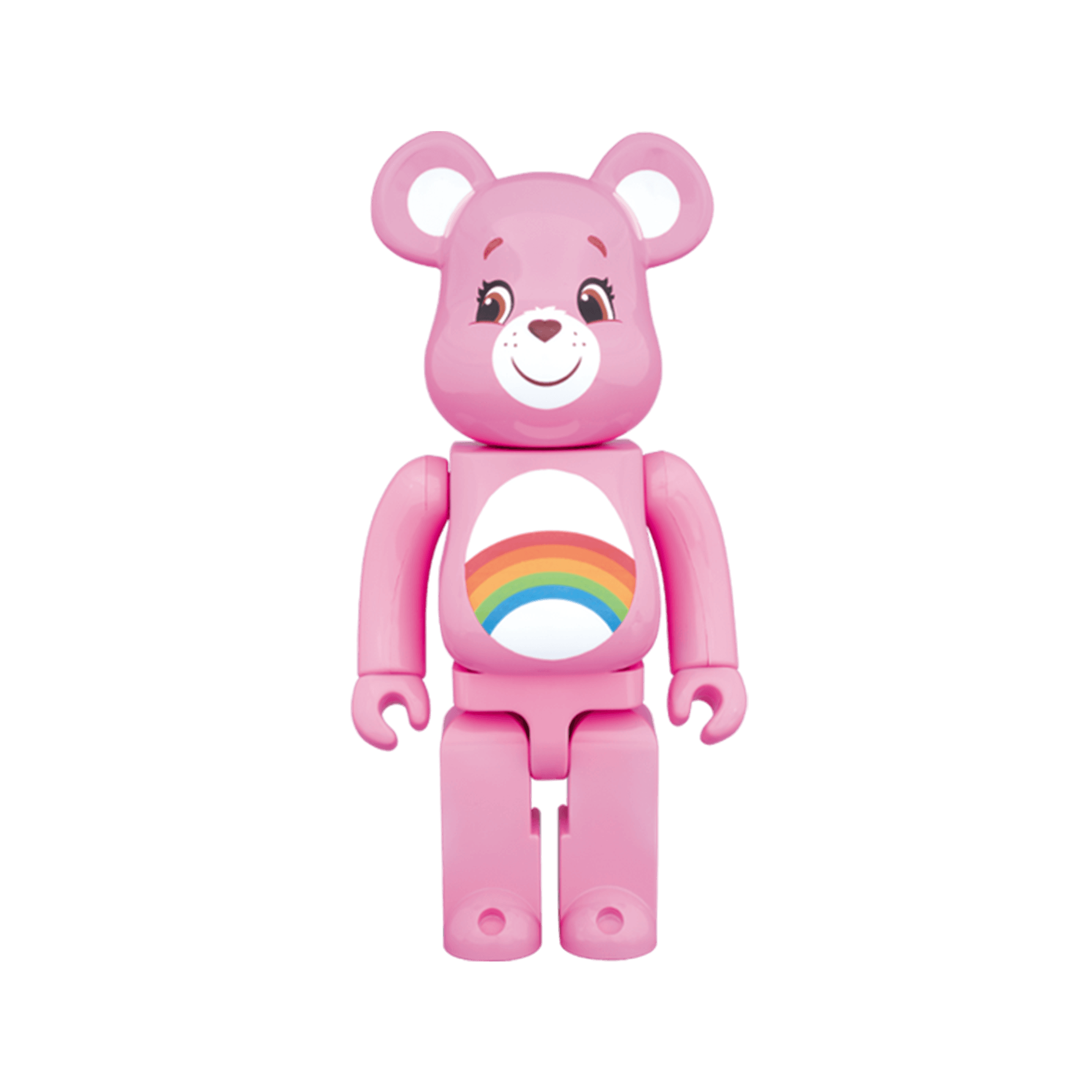 Be@rbrick 400% Care Bears Cheer Bear pink