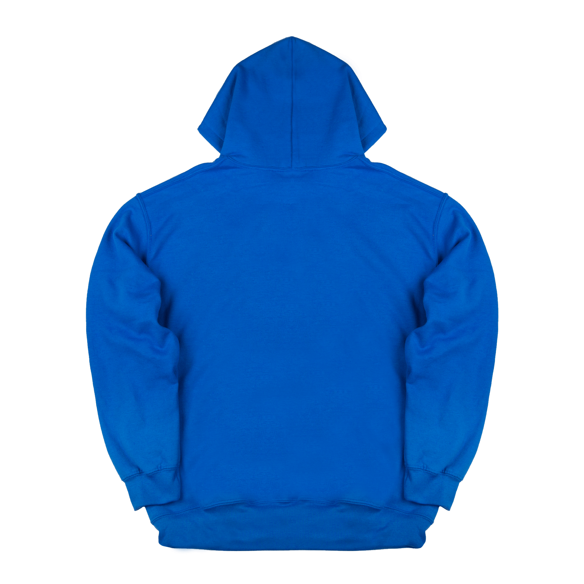 Hoodie Ask Your Mother blu/red
