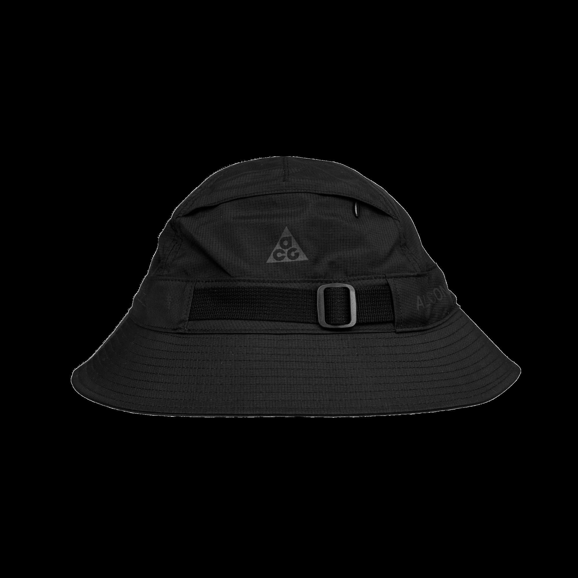 NikeLab ACG Bucket black reflective gold - Cappelli  47b159b3e4d