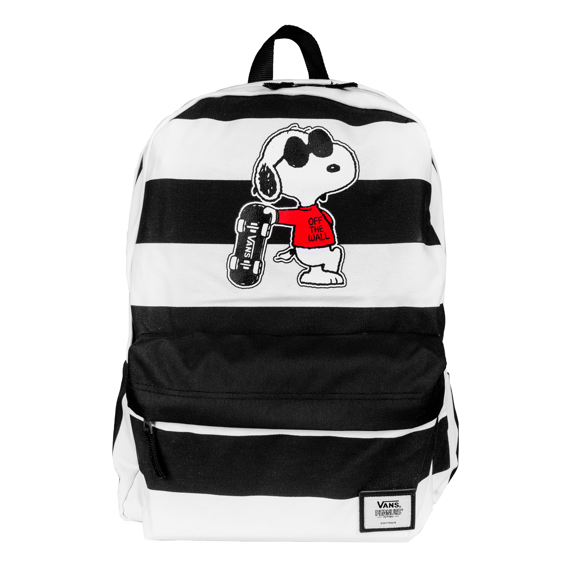 Vans Realm Backpack Peanuts black white - Zaini