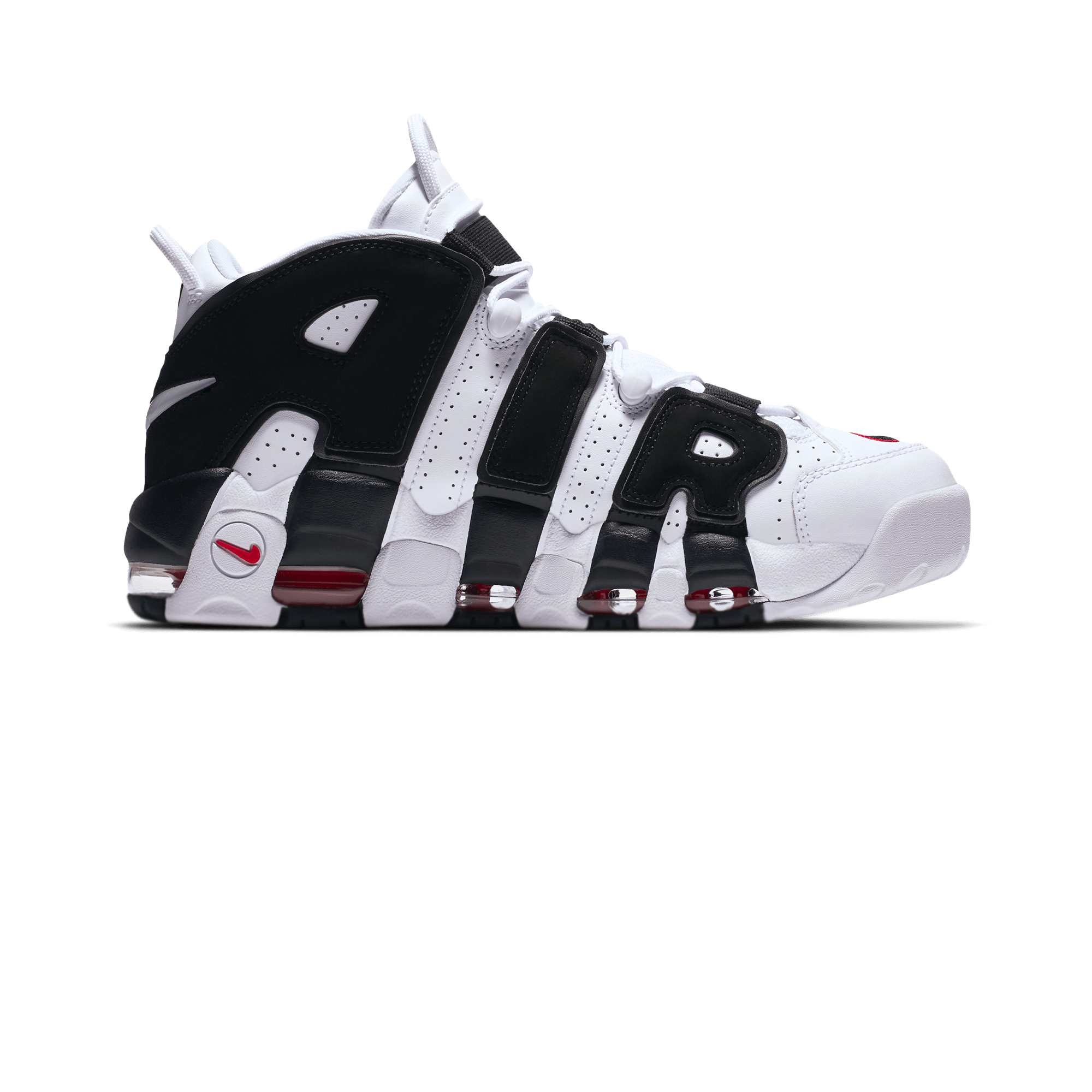 Air More Uptempo white/black/red