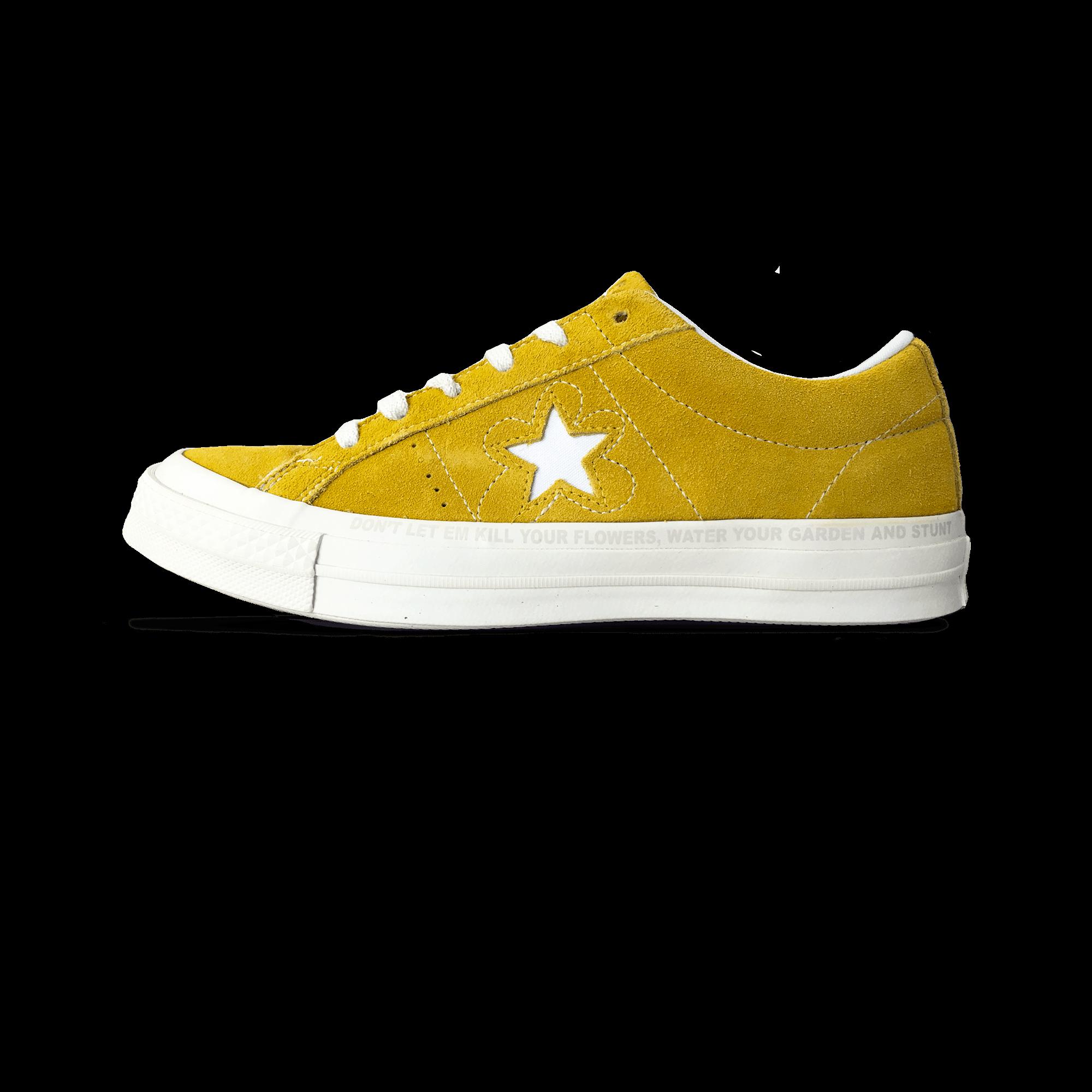 0d98b99432d Converse One Star x Golf Le Fleur sulphure white - Unisex ...