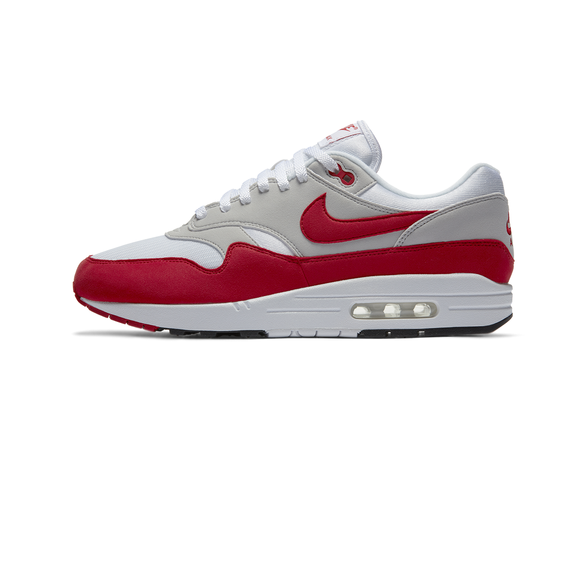 Nike Air Max 1 OG Anniversary white university red Men |
