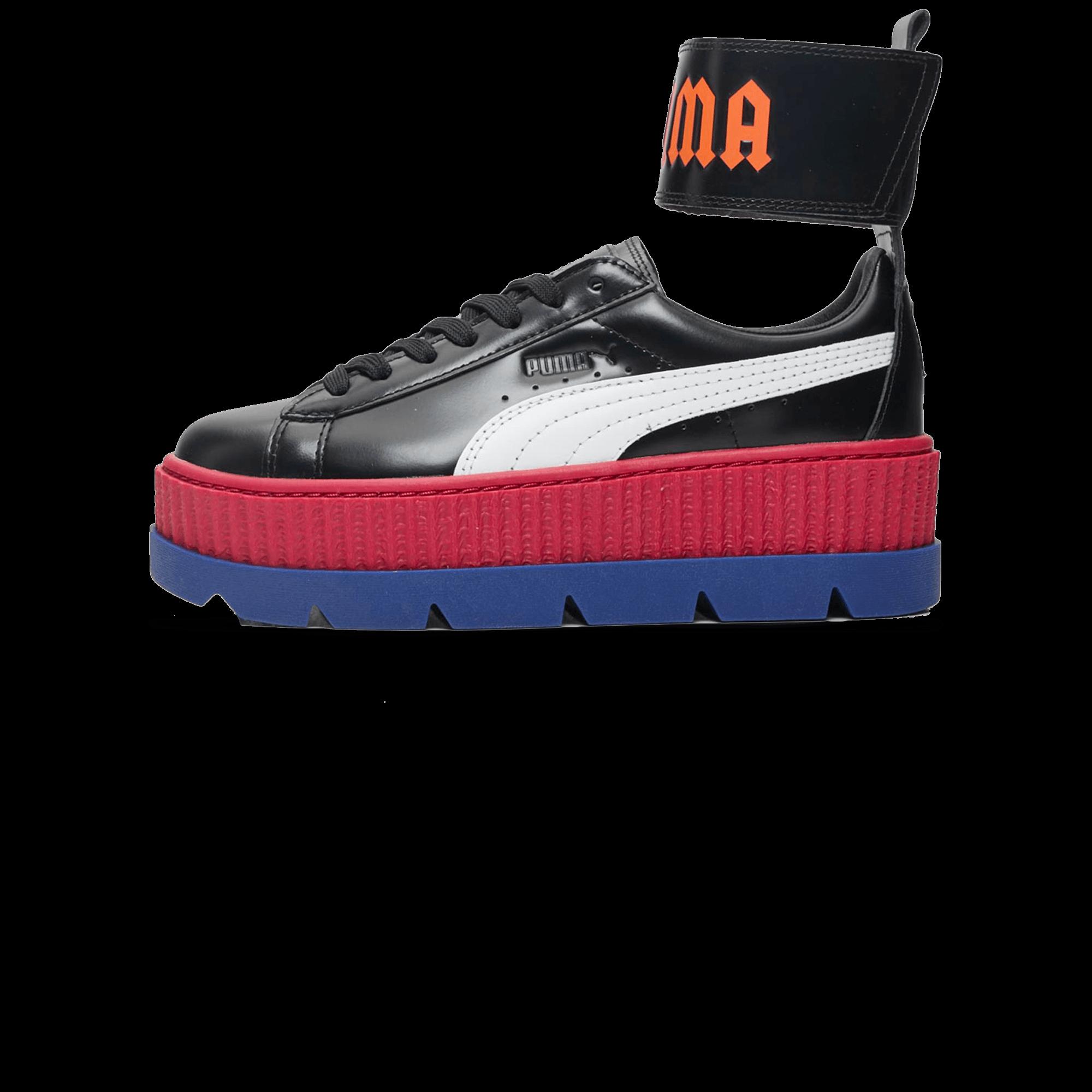 on sale 0a078 22550 Puma Fenty Ankle Strap black/red - Woman   Holypopstore.com