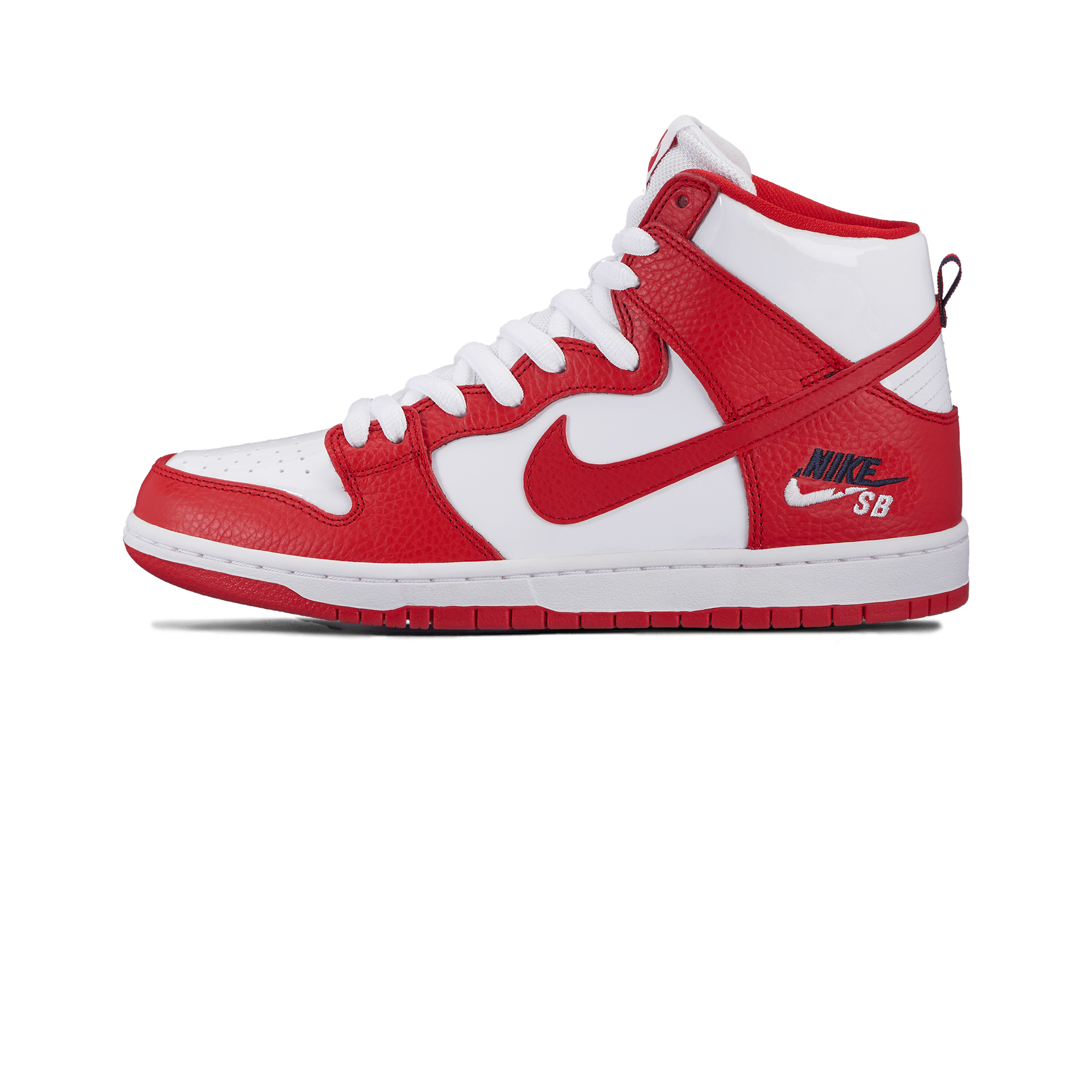 super popular ce6ec b0b23 Nike Sb Zoom Dunk High Pro university red/white - Men | Holypopstore.com