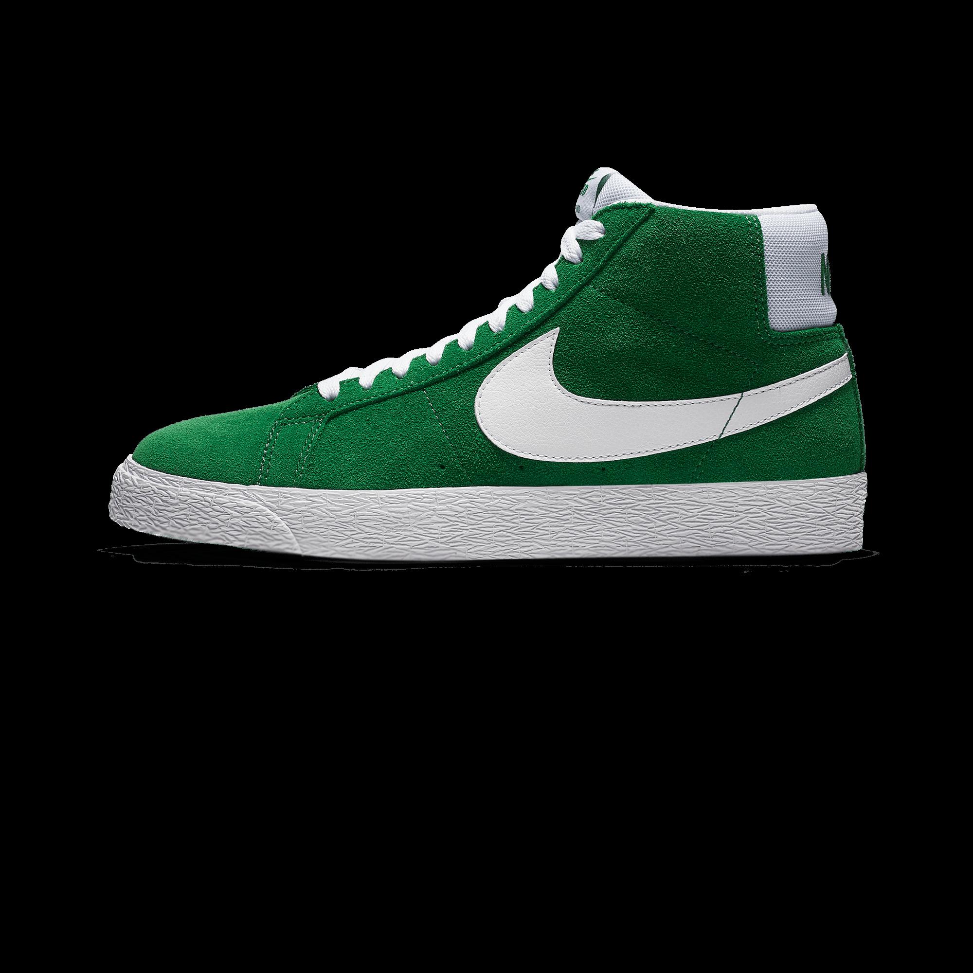 new product e0a5f 0e620 Nike Sb Zoom Blazer Mid pine green/white - Men   Holypopstore.com