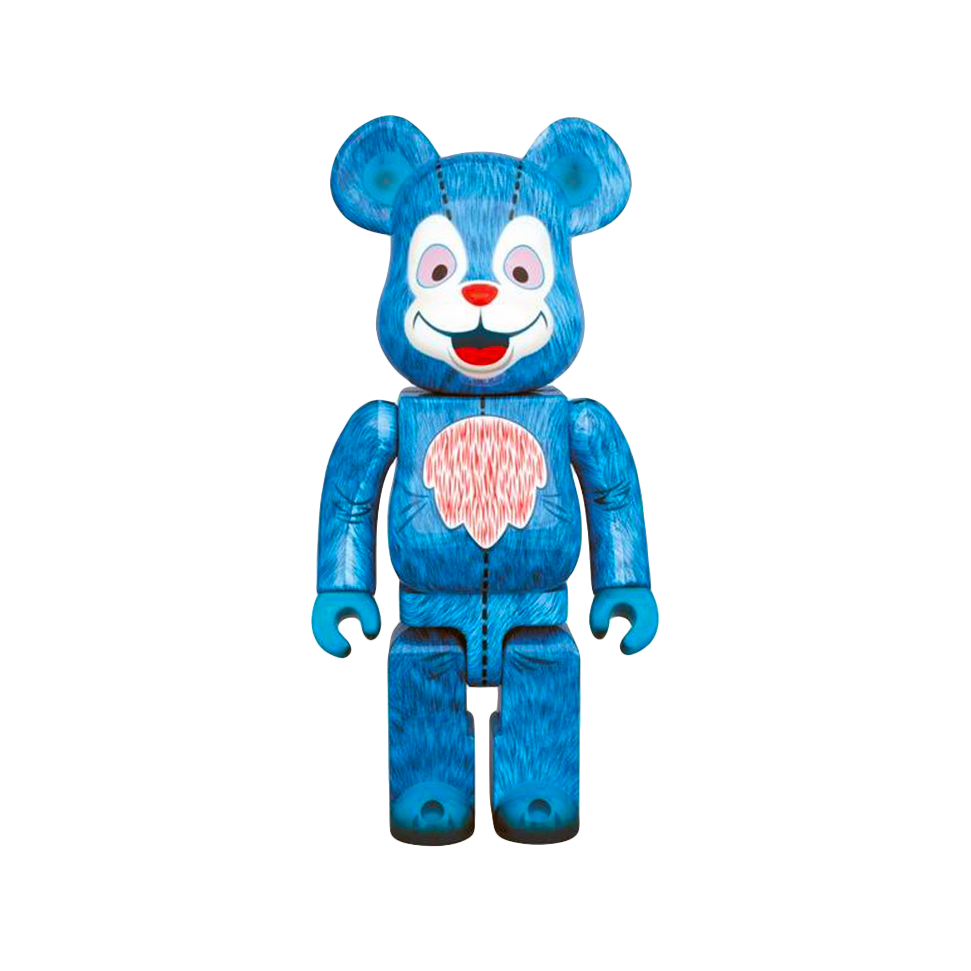 Medi Toy Be rbrick 400% Milk Boy Toys Bear blue Toys