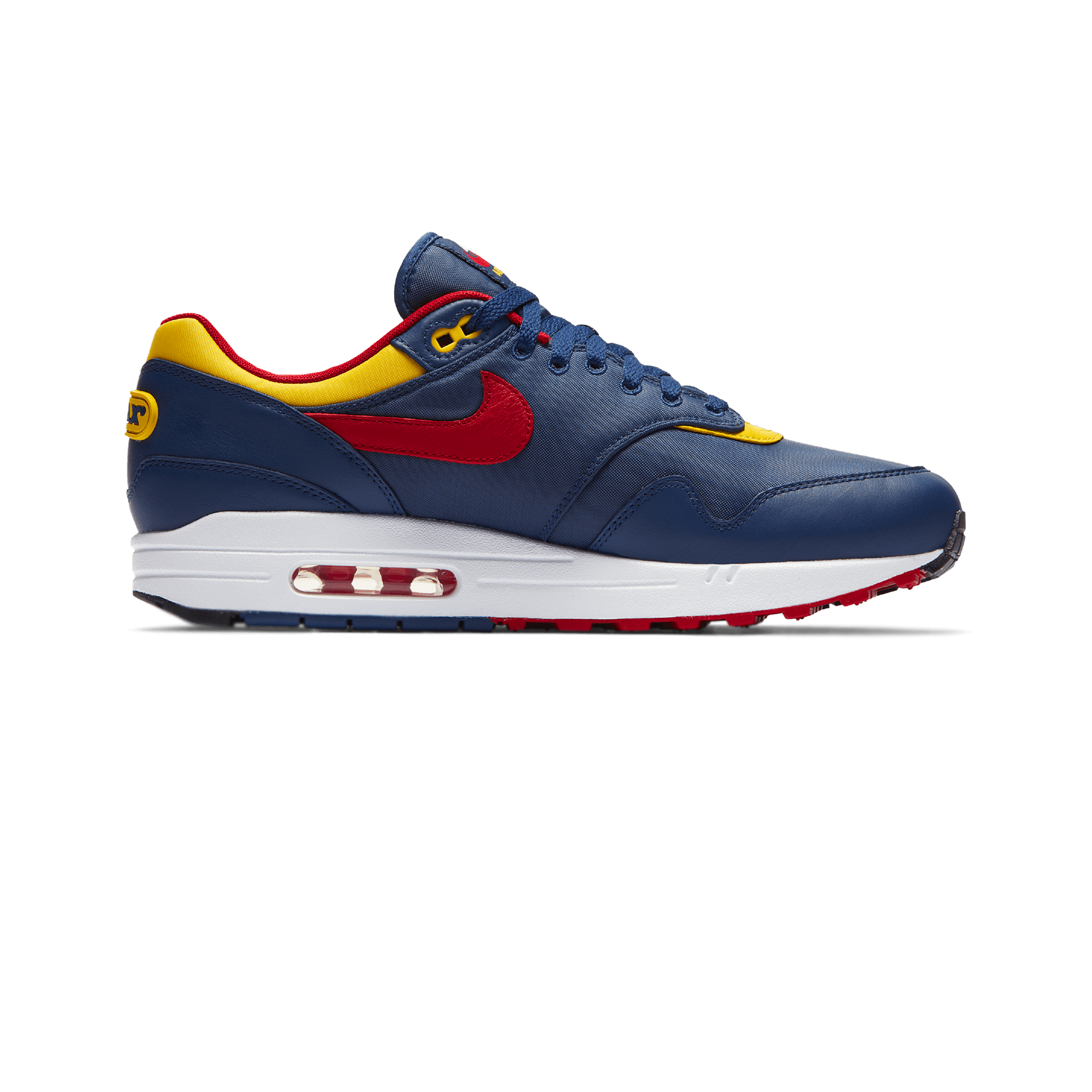 Air Max 1 Premium navy/yellow/gym red