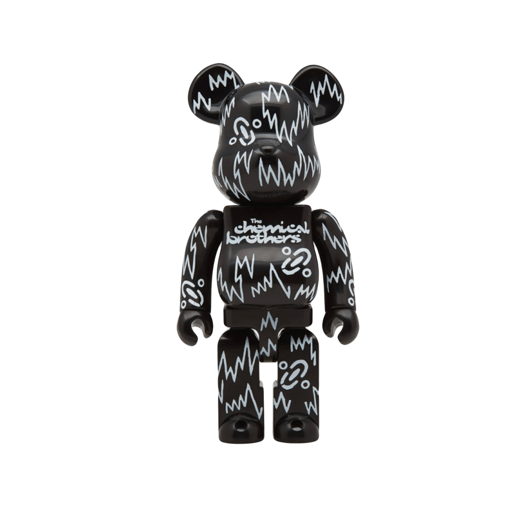 Be@rbrick 400% The Chemical Brothers black