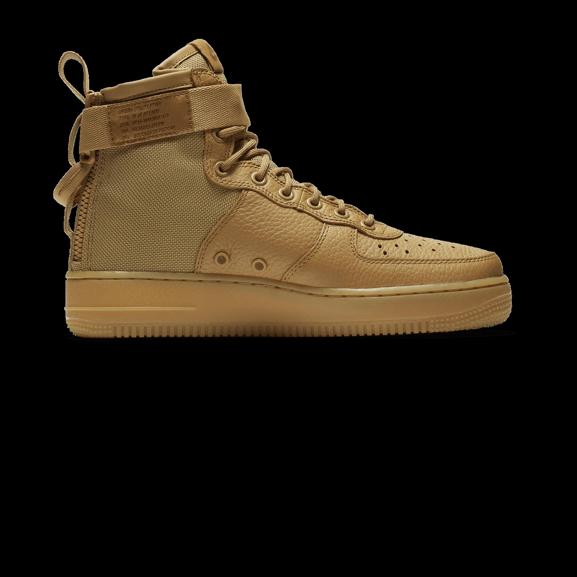 Nike SF Air Force 1 Mid elemental gold Donna  