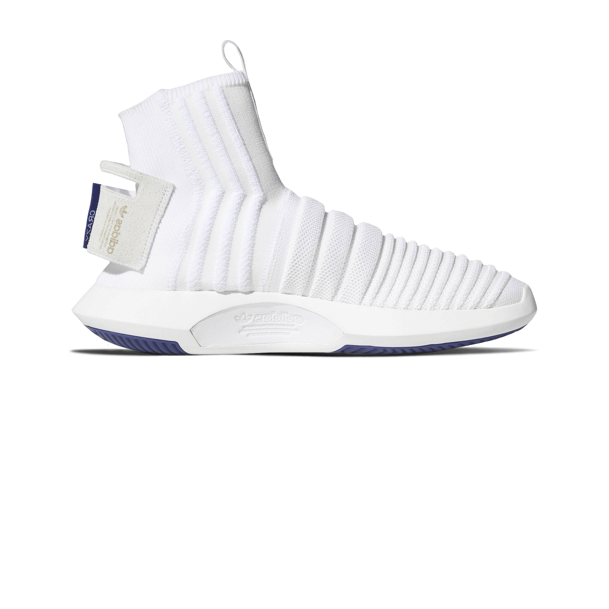 Crazy 1 ADV Sock PK white