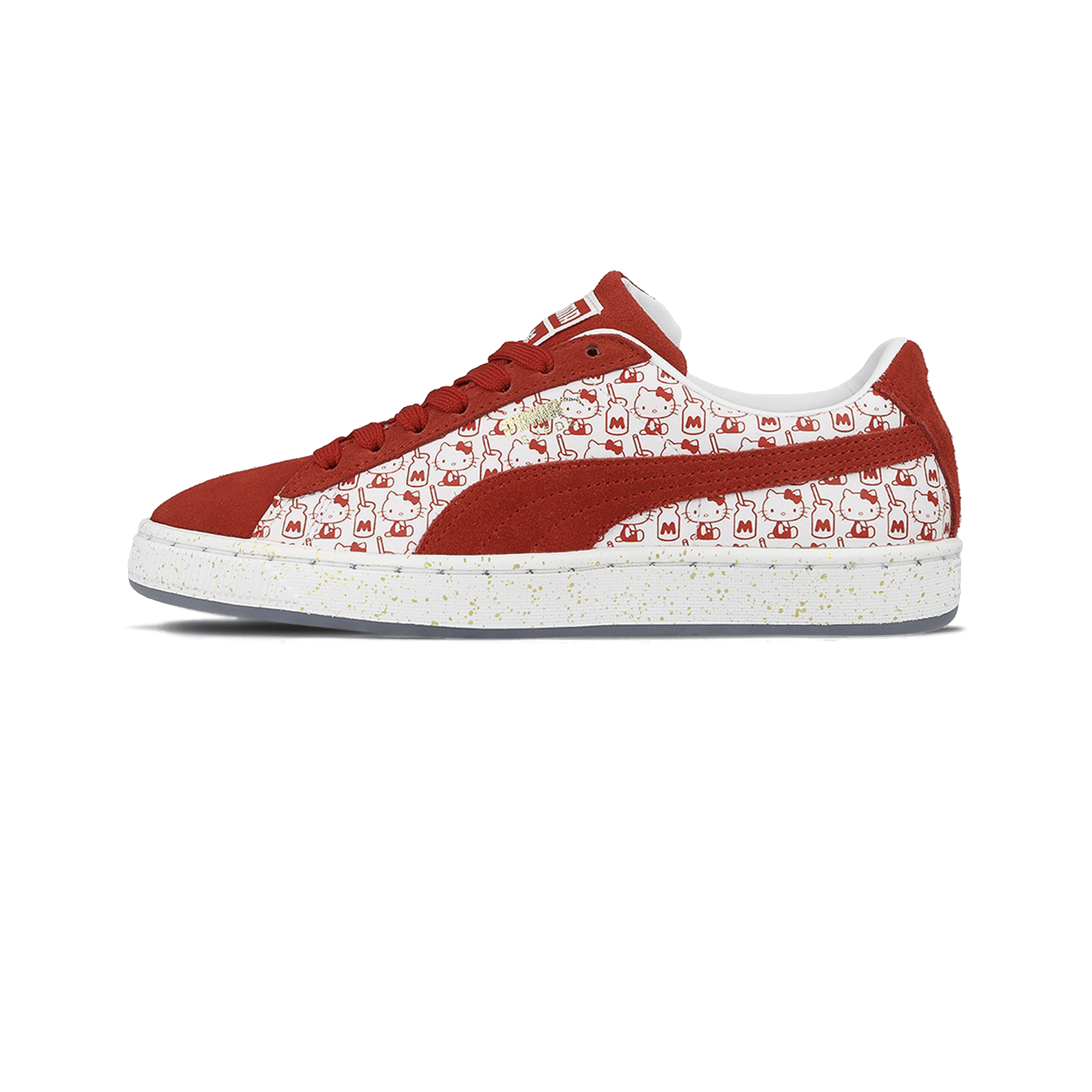 Hello Kitty x Suede Classic red/white