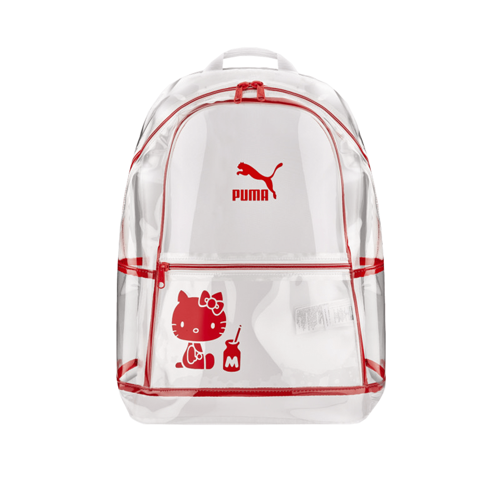 Hello Kitty Backpack white/red