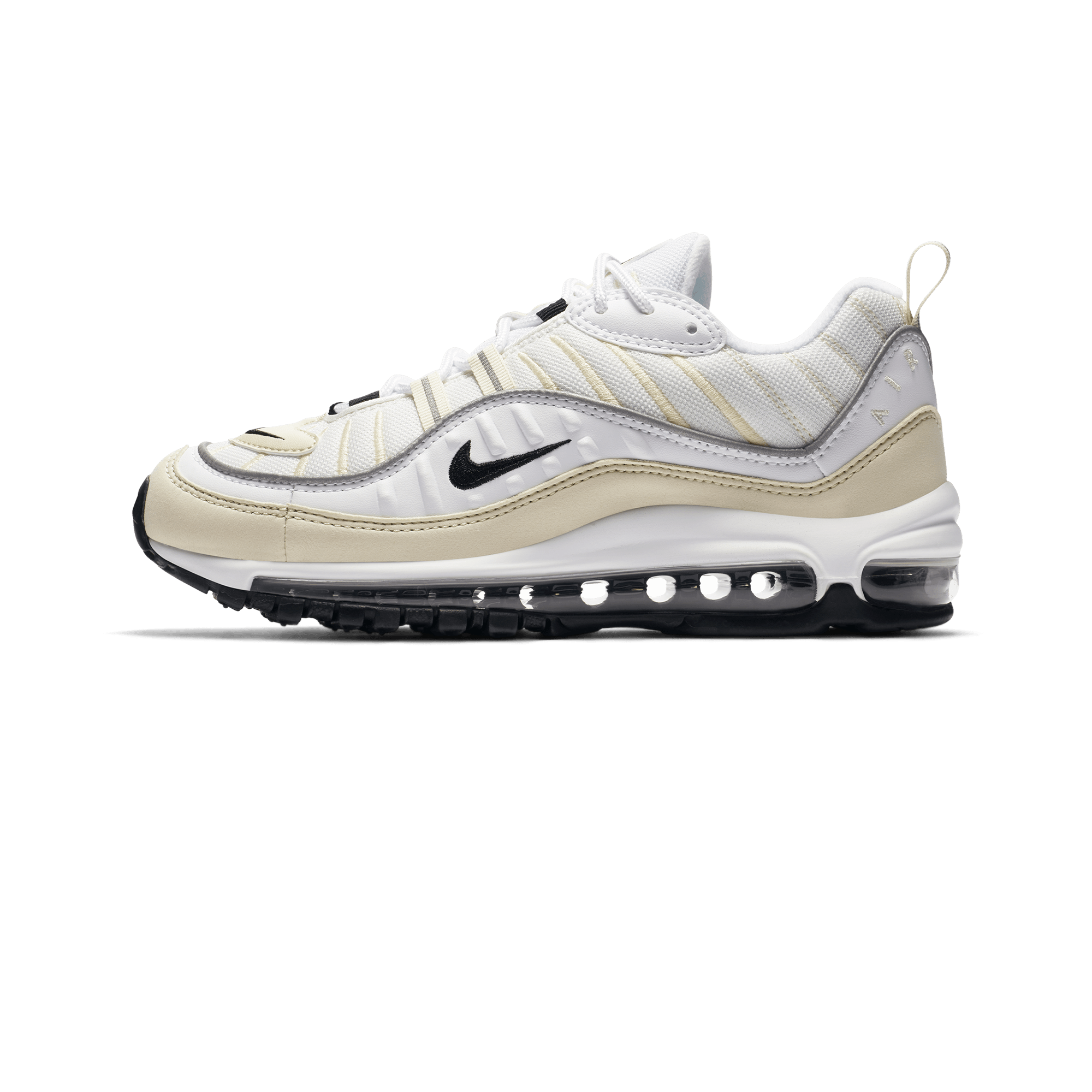 Nike Air Max 98 W white black fossil Woman |