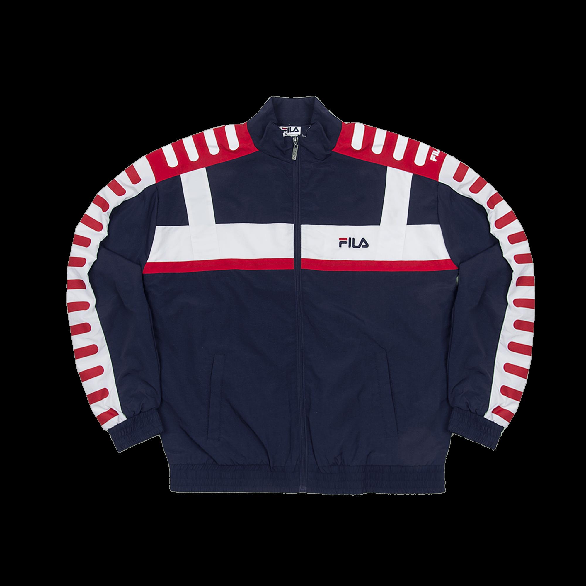 Fila Devin Woven Jacket peacoat Sweatshirts |