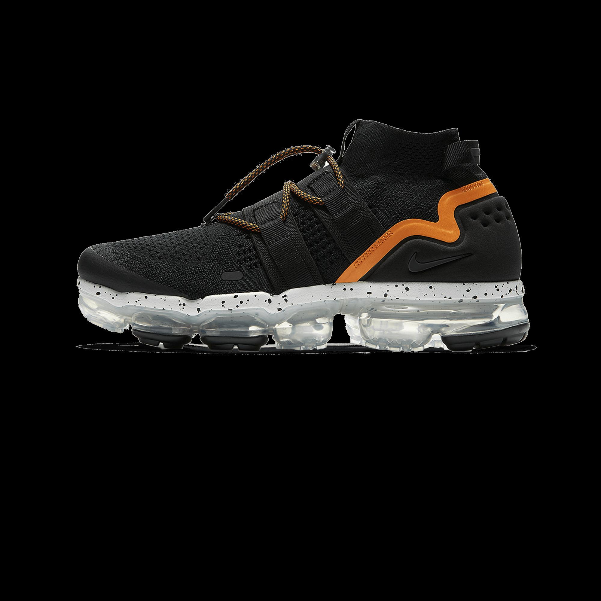 online store fad59 53315 Nike Air Vapormax FK Utility black/orange peel - Men | Holypopstore.com