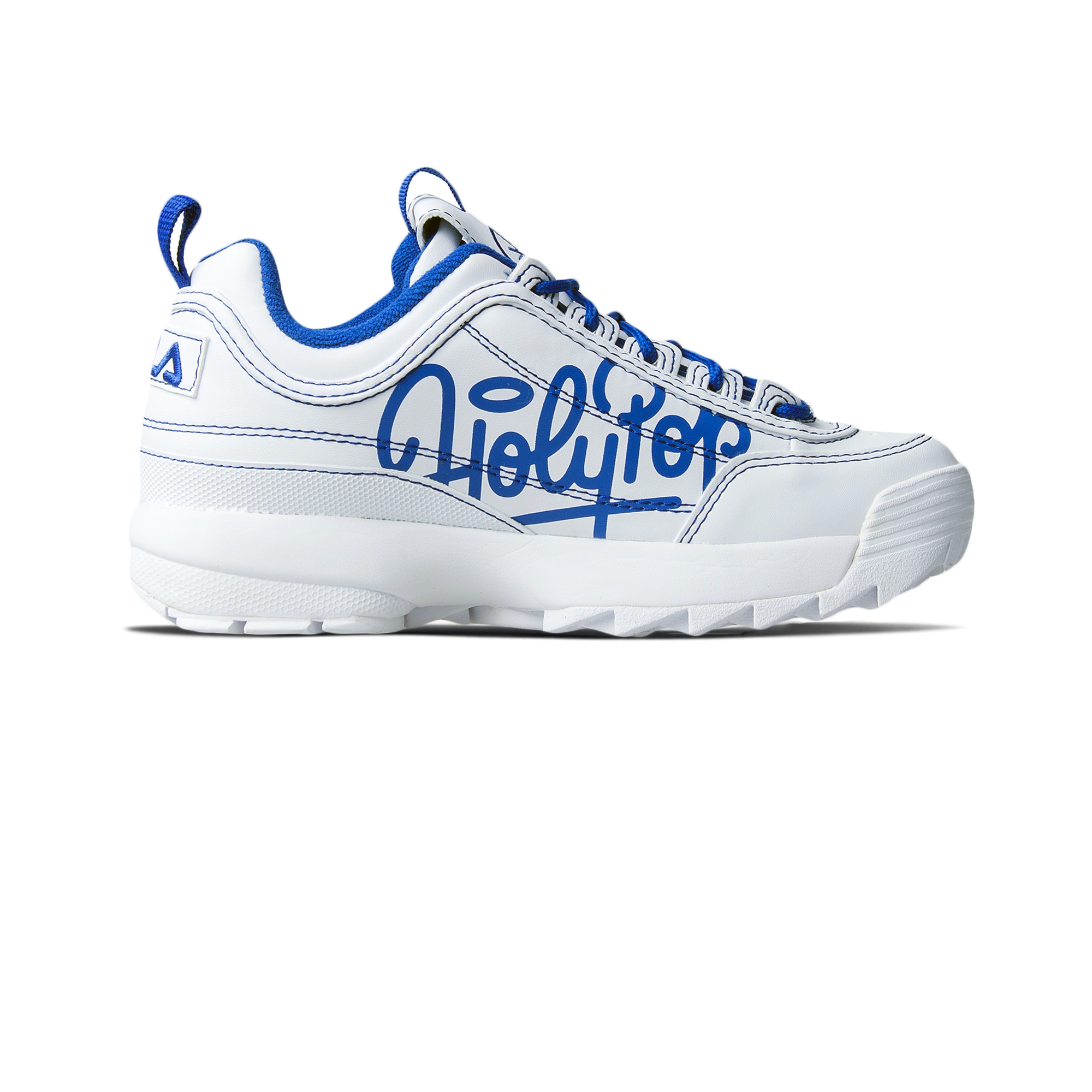 Disruptor x Holypop white/blue
