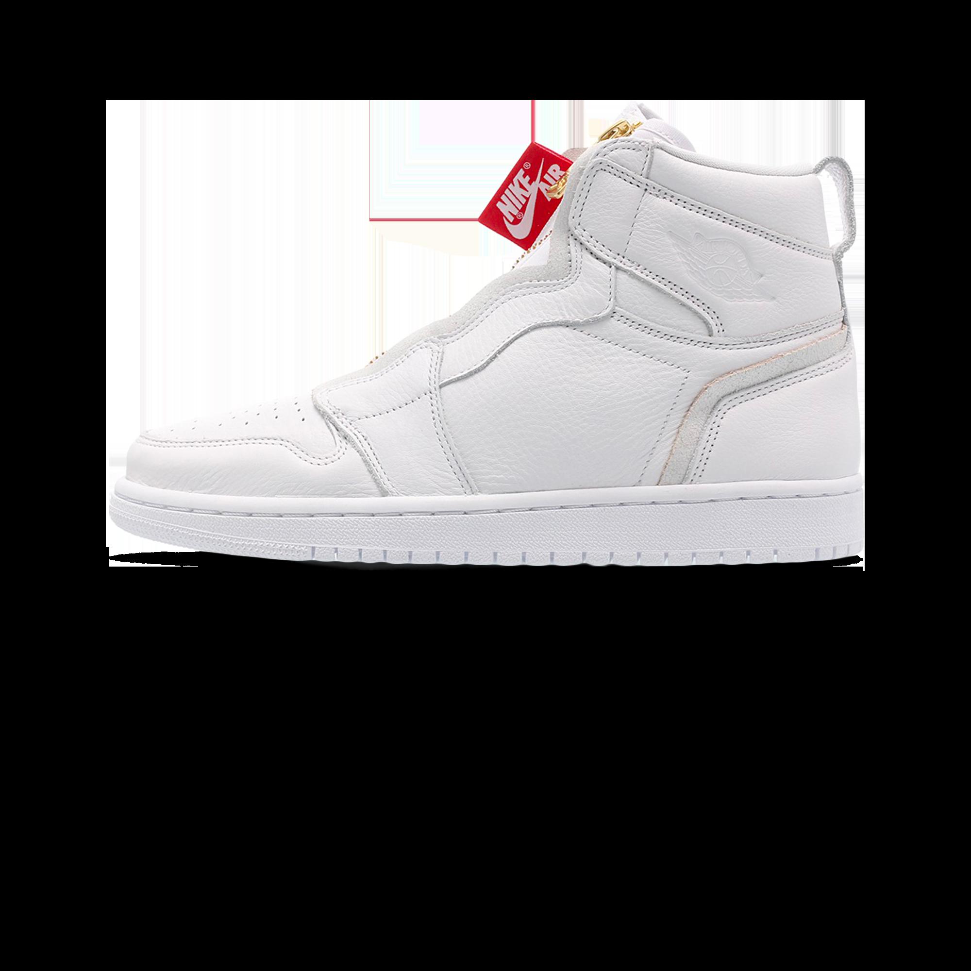 best loved 28a49 66241 Air Jordan Jordan 1 High Zip W white / university red - Woman |  Holypopstore.com