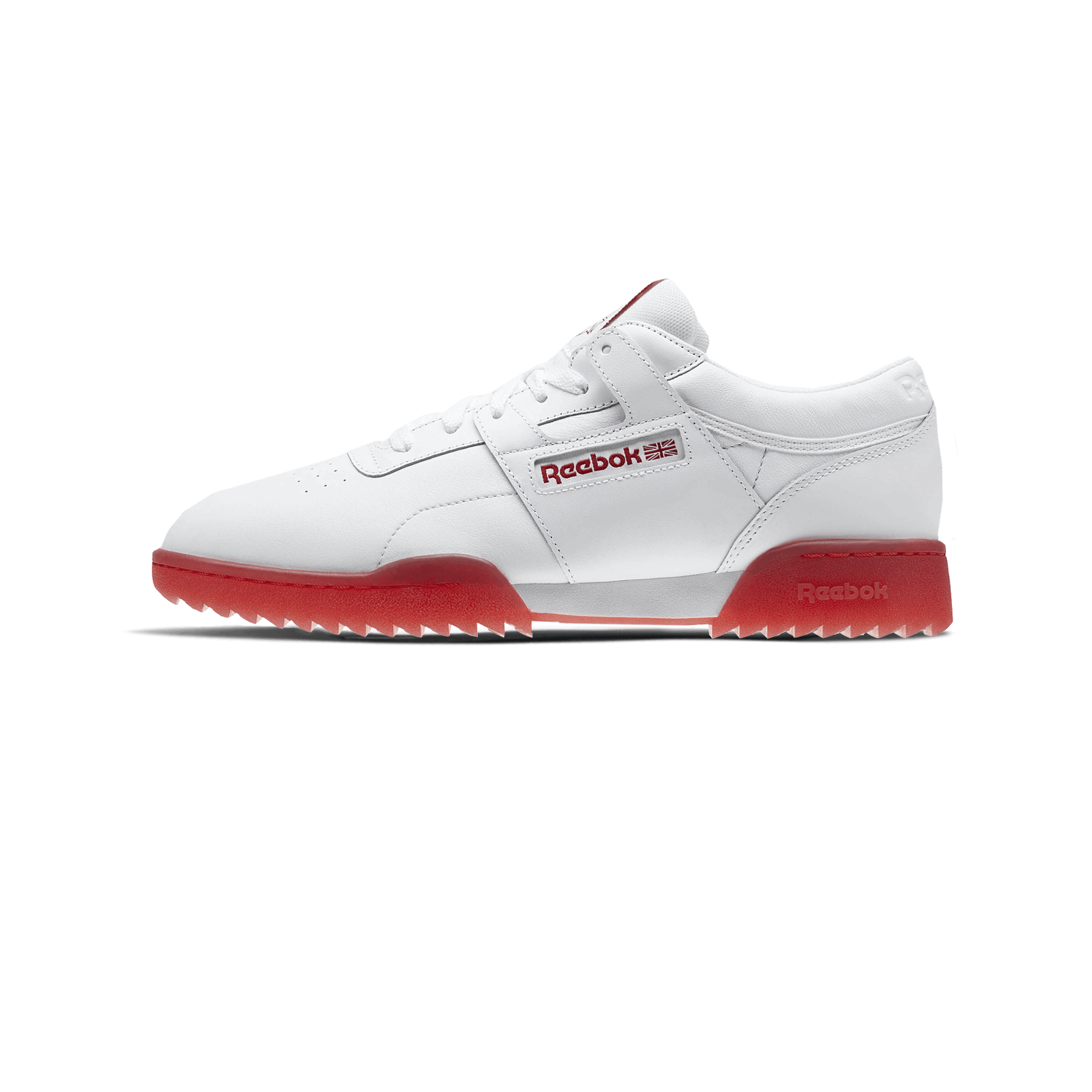 5aea71fca Reebok Workout Clean Ripple Ice white / primal red - Men ...