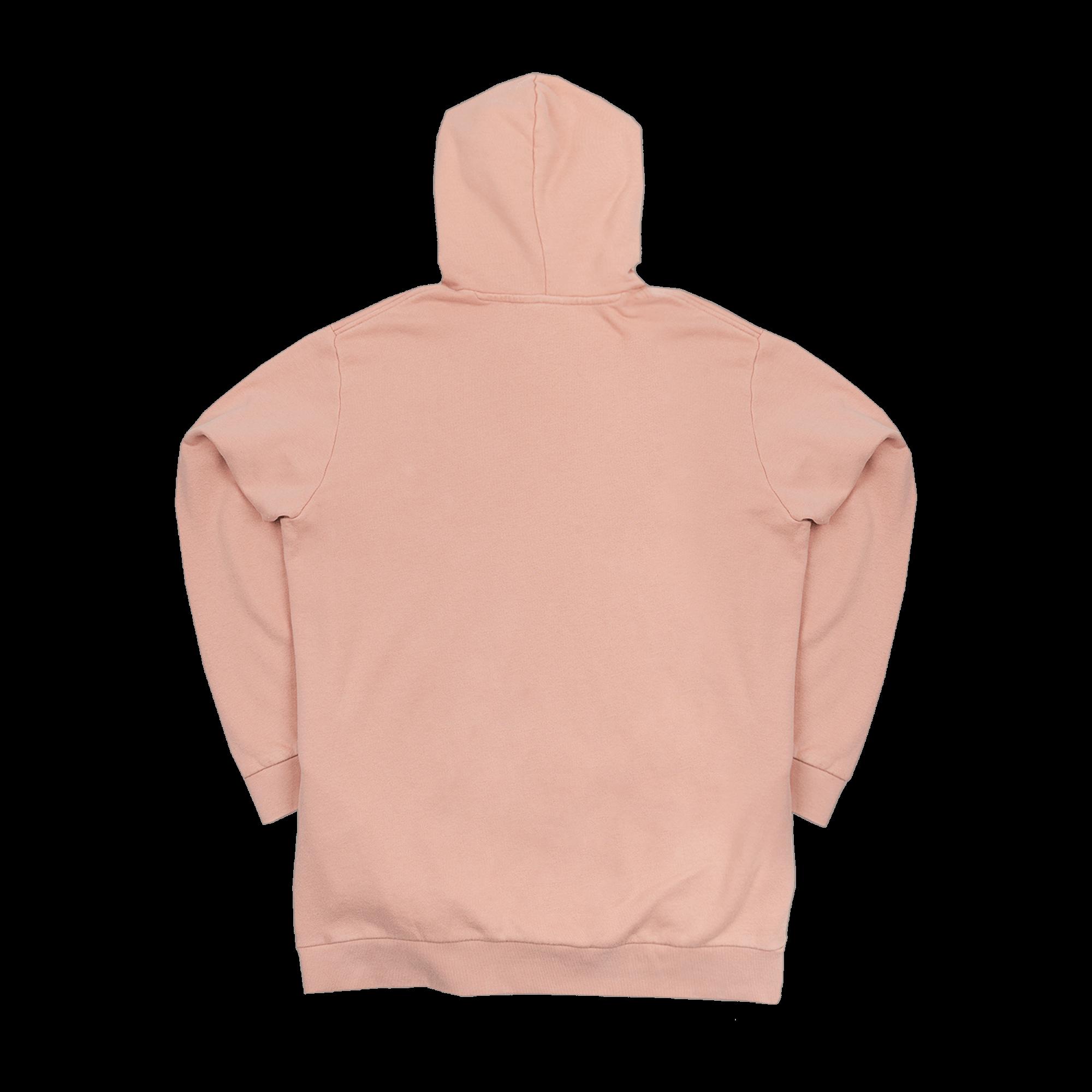 Trefoil Hoodie dust pink