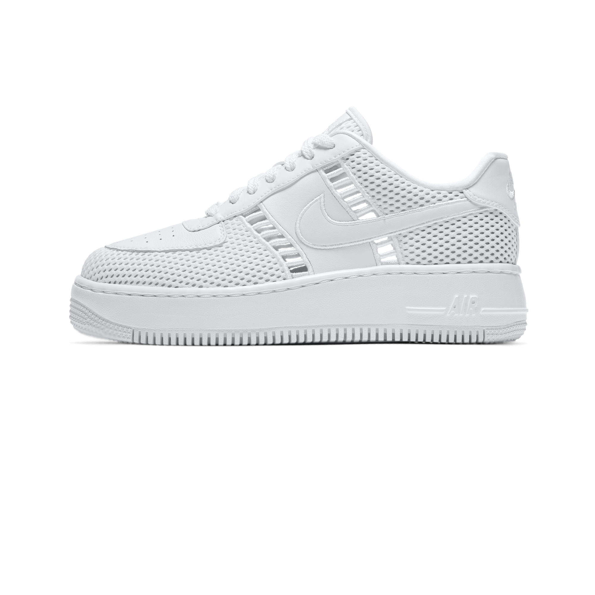 Nike Air Force 1 Upstep SI W white vast grey Woman |