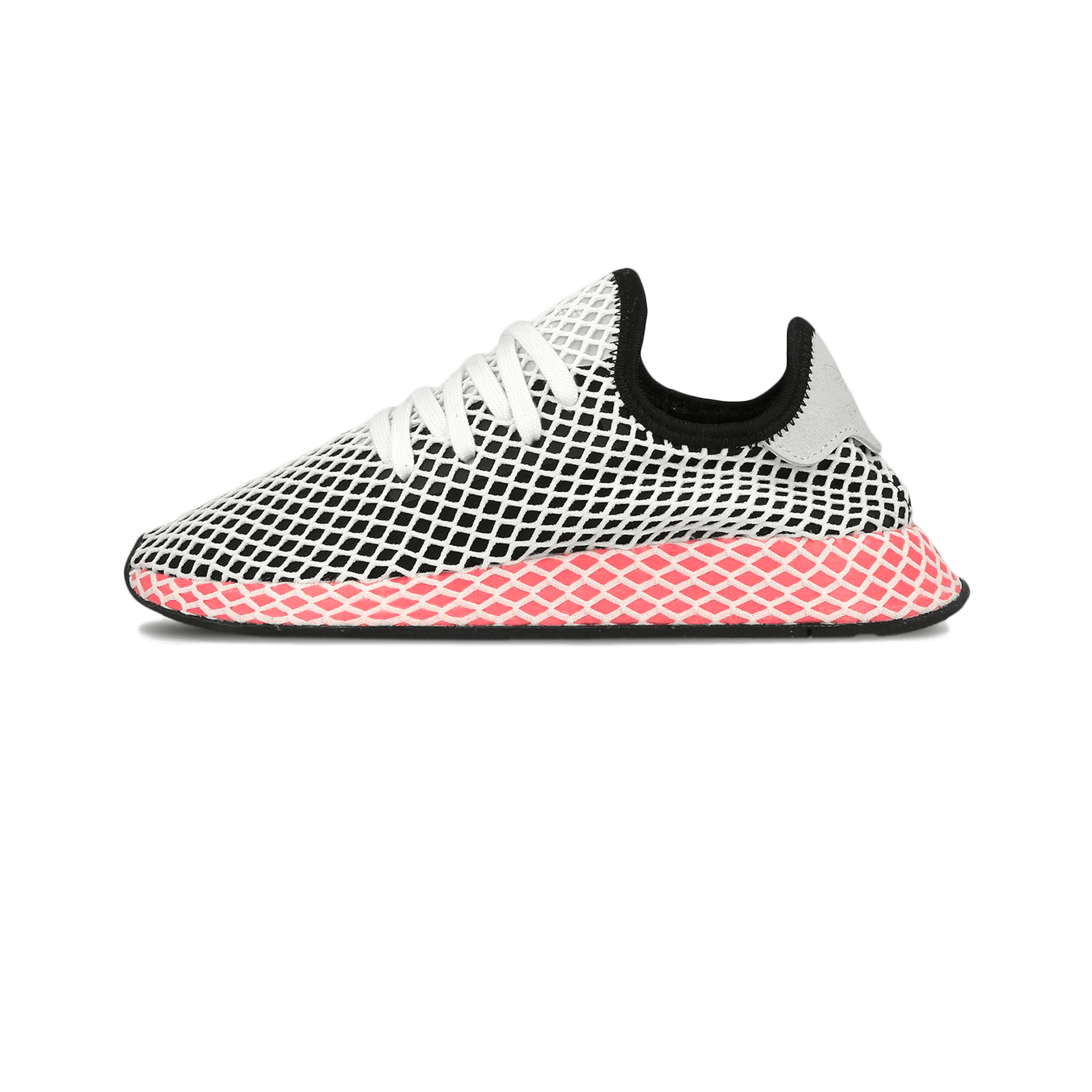 adidas Deerupt Runner W core black / chalk pink - Donna | Holypopstore.com