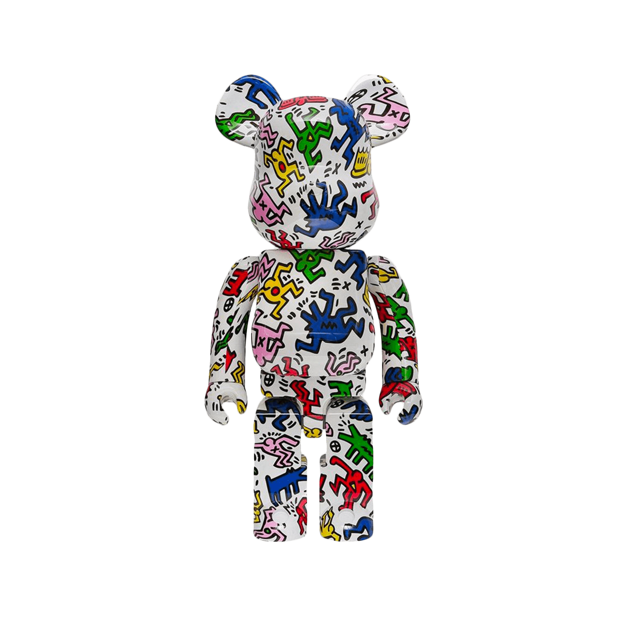 Be@rbrick 1000% Keith Haring multicolor