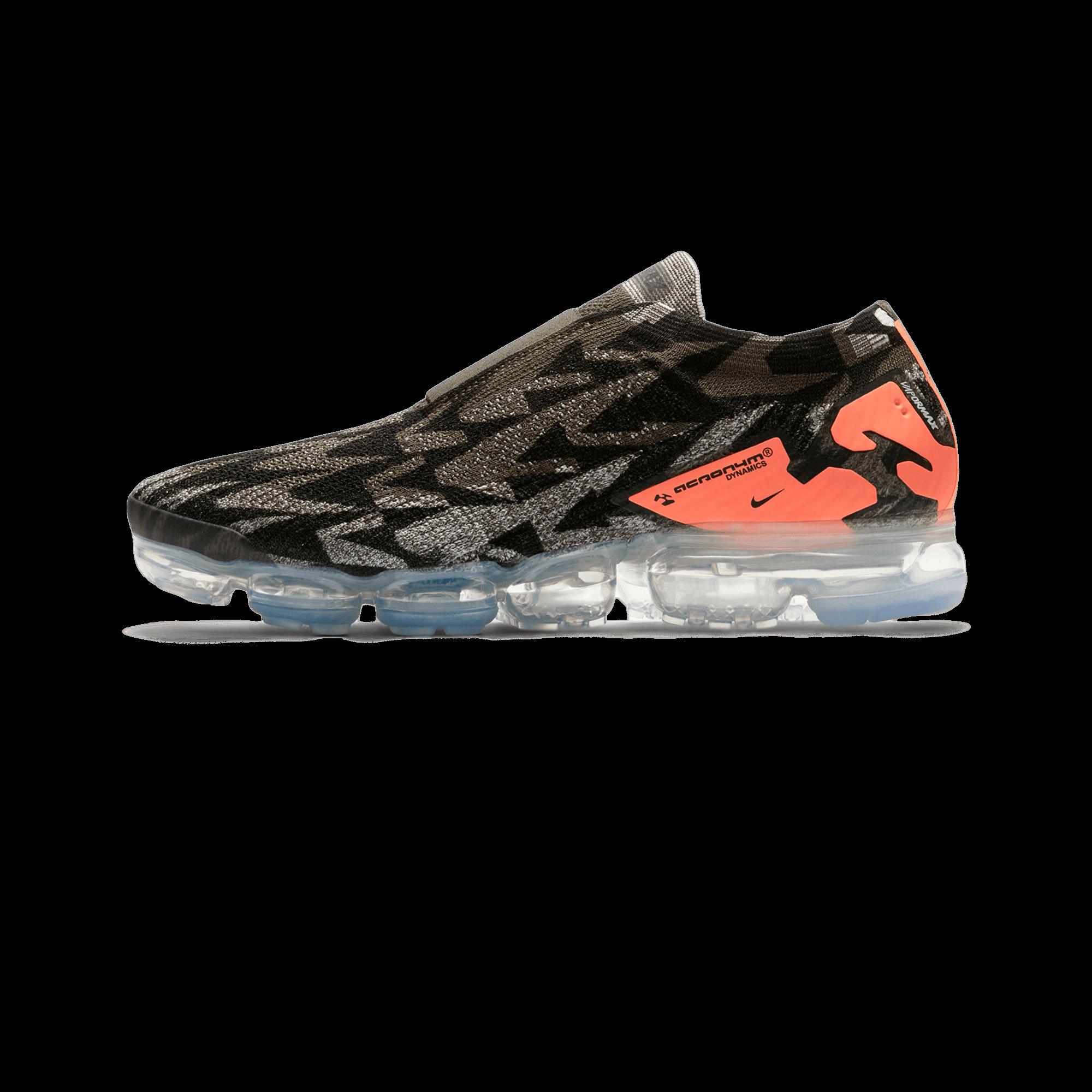 online retailer reputable site most popular Nike Air Vapormax FK Moc 2 X Acronym black / orange - Men | Holypopstore.com