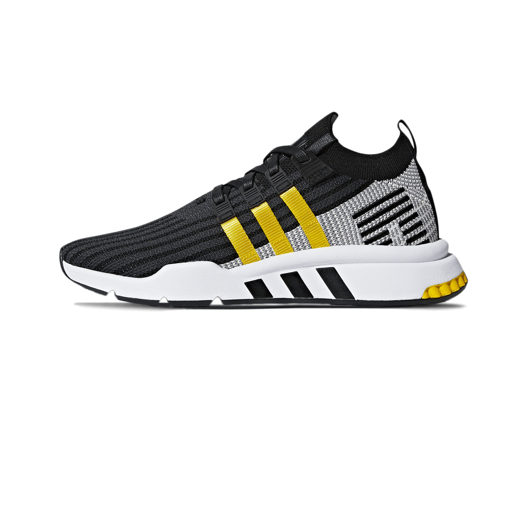 100% authentic ae0d8 558f2 adidas EQT Support Mid ADV black / yellow / white - Men | Holypopstore.com