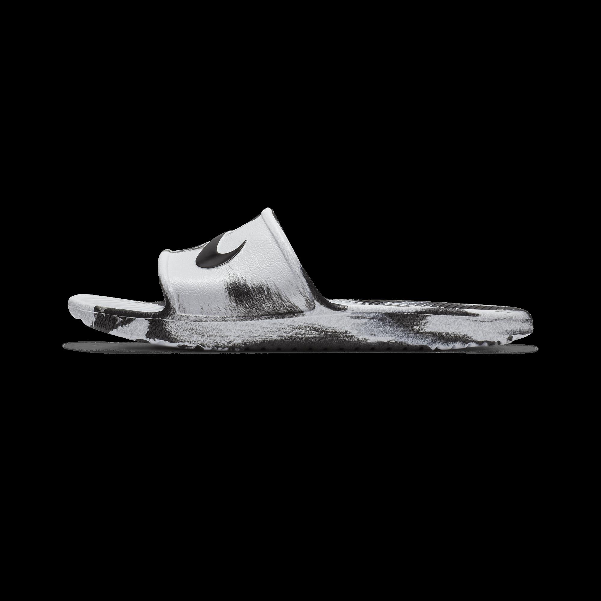 b7206189f04 sneaker mens nike kawa shower slide sandals white black - hocadeban.com