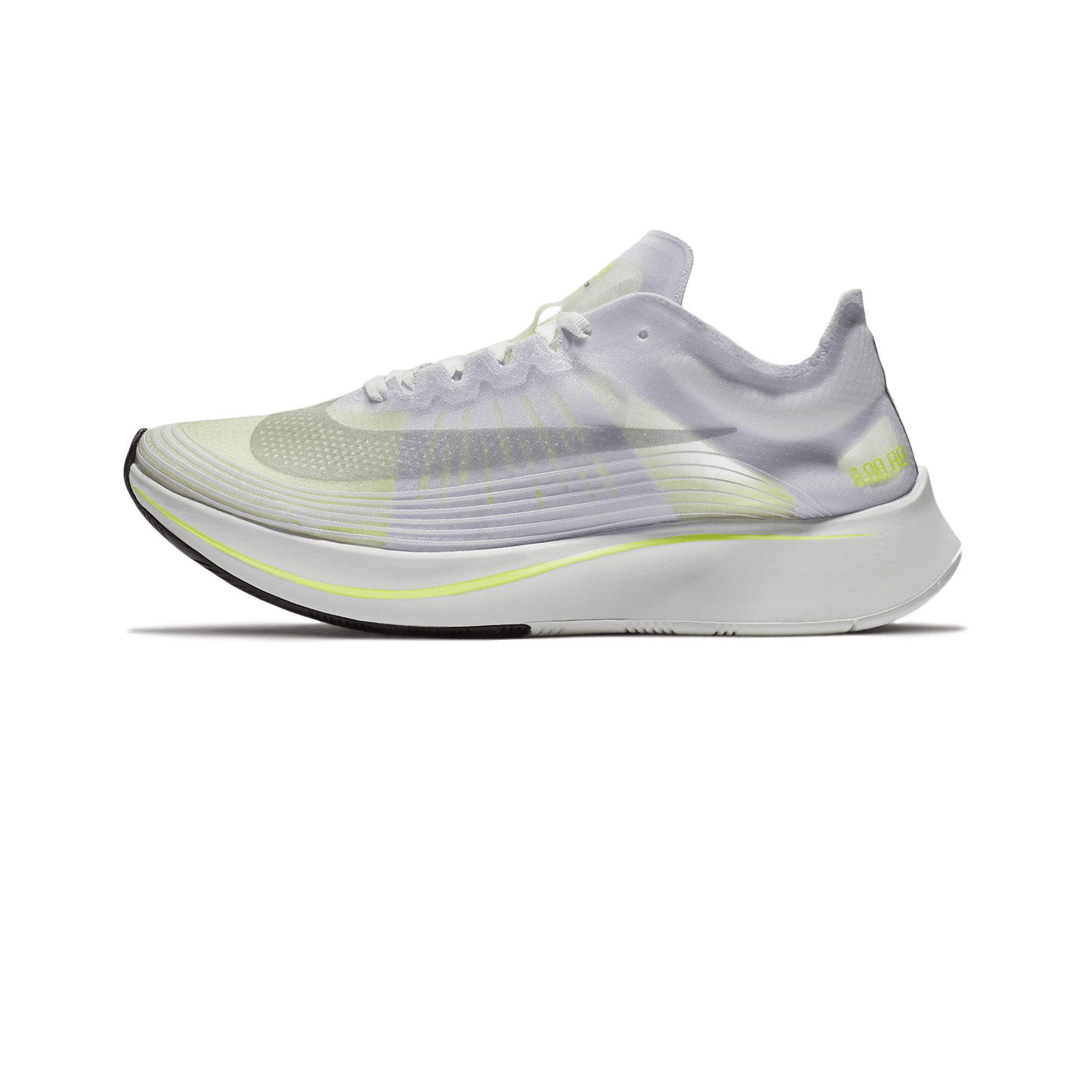 plus de photos fa3ca e4ce7 Nike Zoom Fly SP W white / volt glow / summit white - Woman |  Holypopstore.com