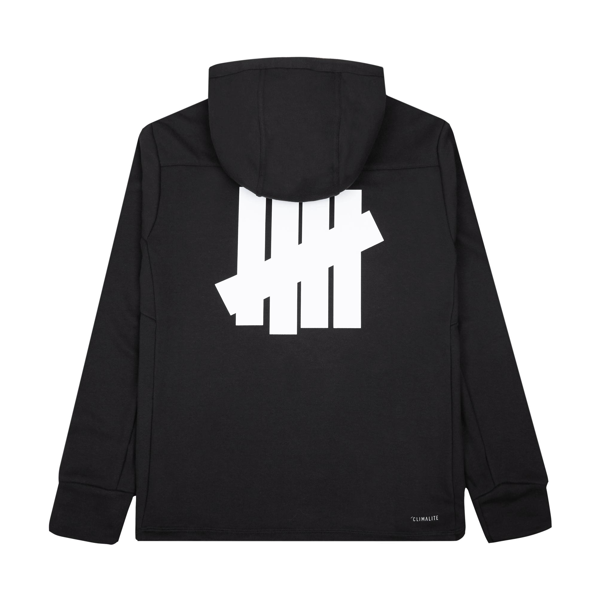 Tech Hoodie x UNDFTD black / white