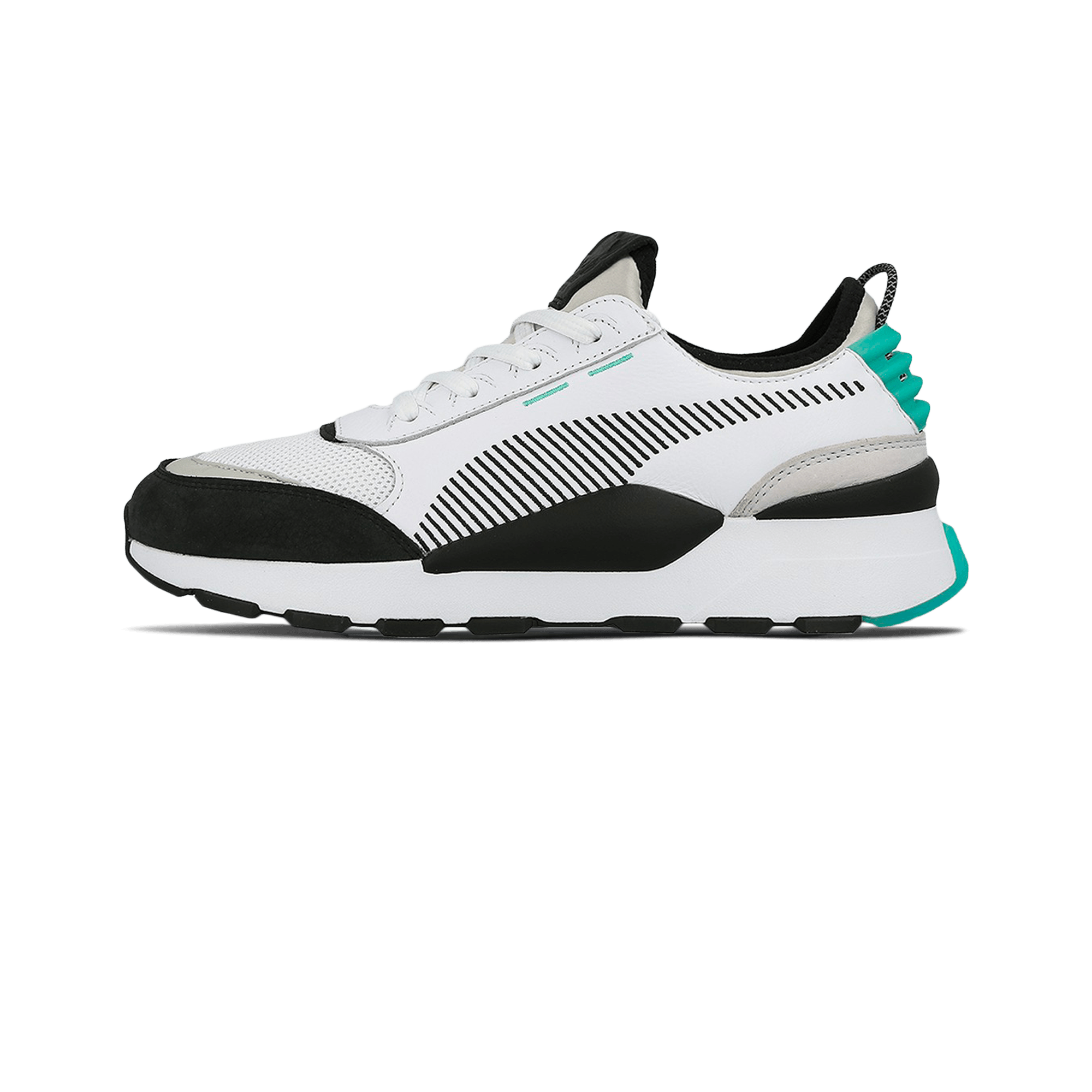 Puma RS 0 Re Invention white gray violet biscay green Men |