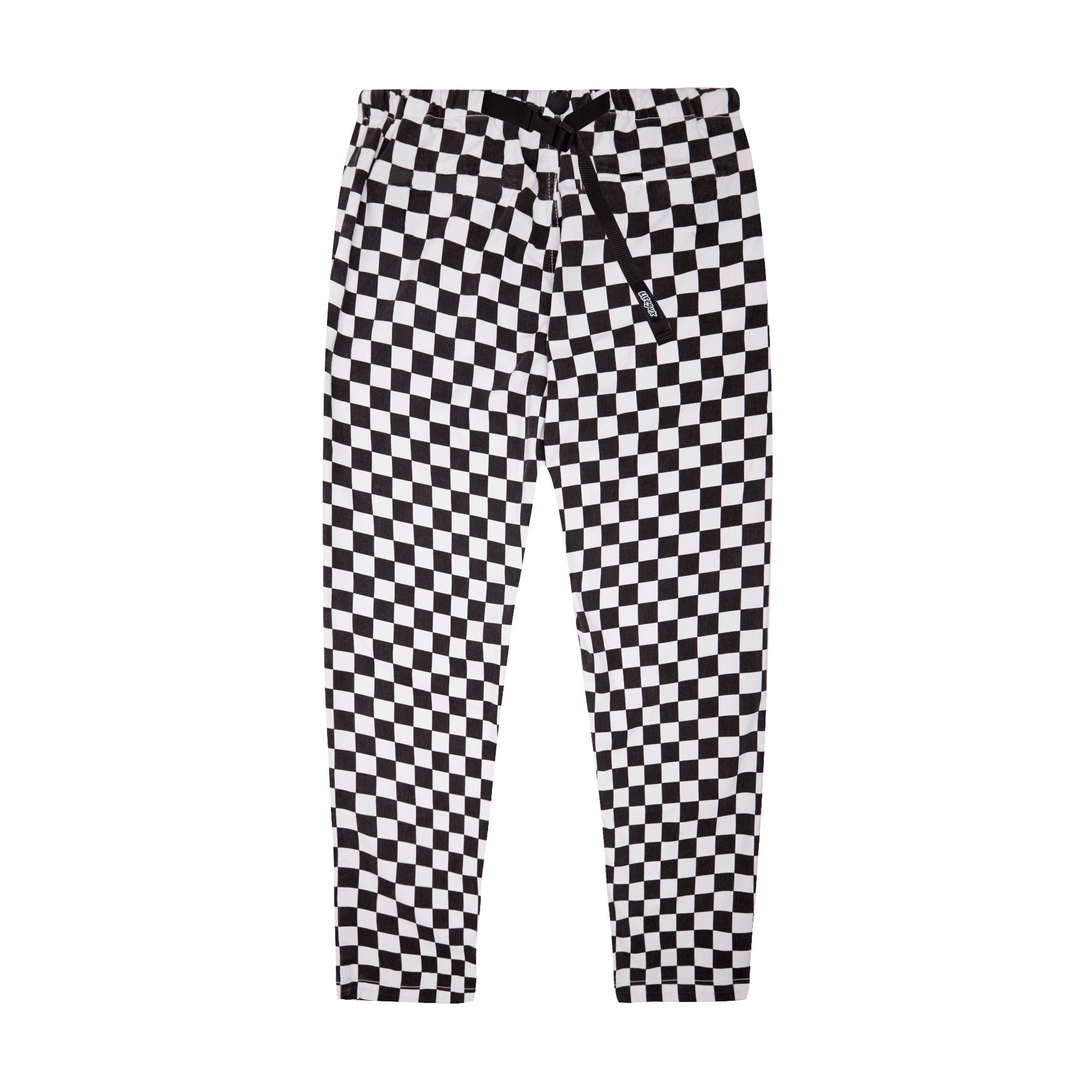 Clip Pant Check white / black