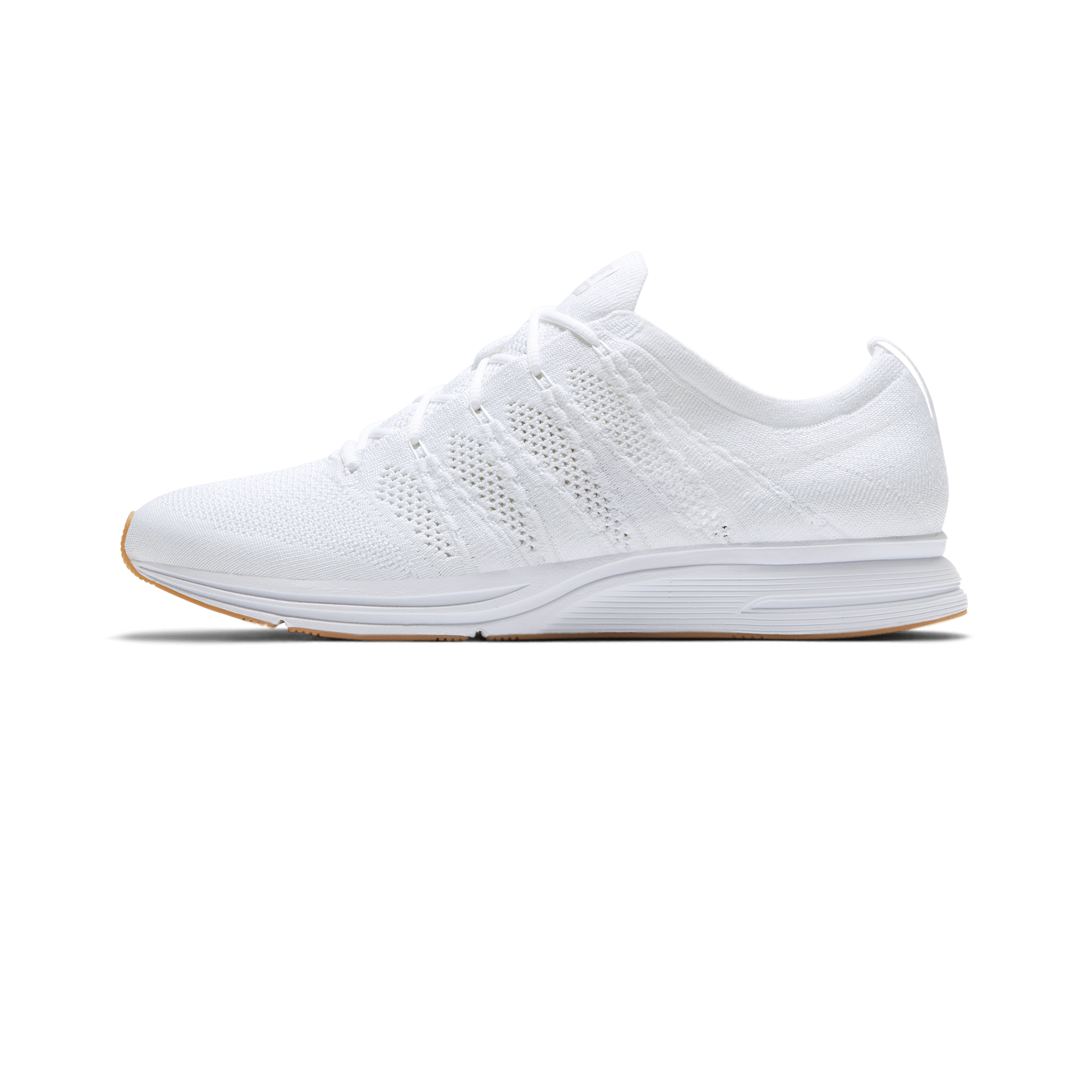 0f3a30ae6700 Nike Flyknit Trainer white   gum light brown - Uomo