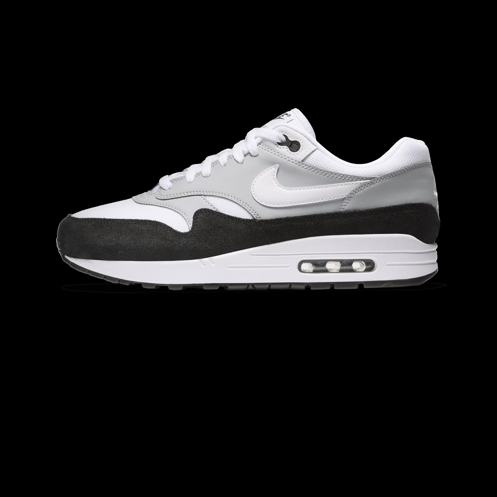 Nike AIR MAX 1 Wolf GreyWhiteBlack