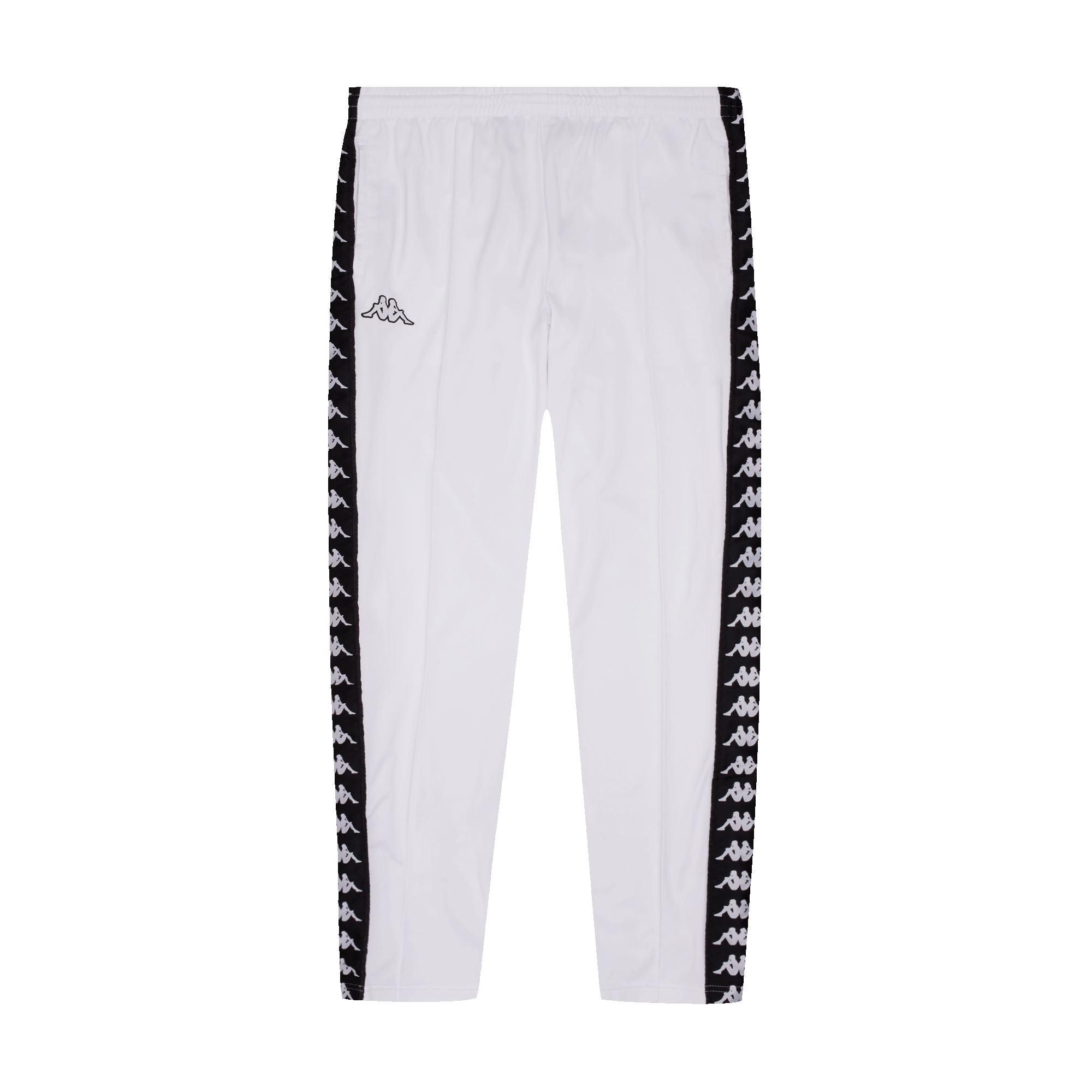 b81b3a25 Kappa Banda Astoria Snaps Slim Pant white / black - Pantaloni ...