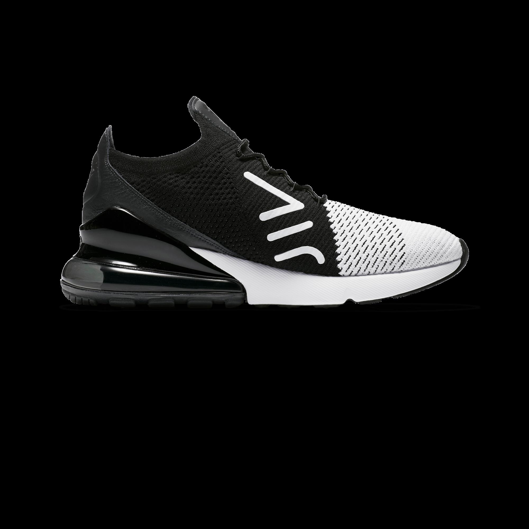 421d090c79c Nike Air Max 270 Flyknit white   black   anthracite - Men ...