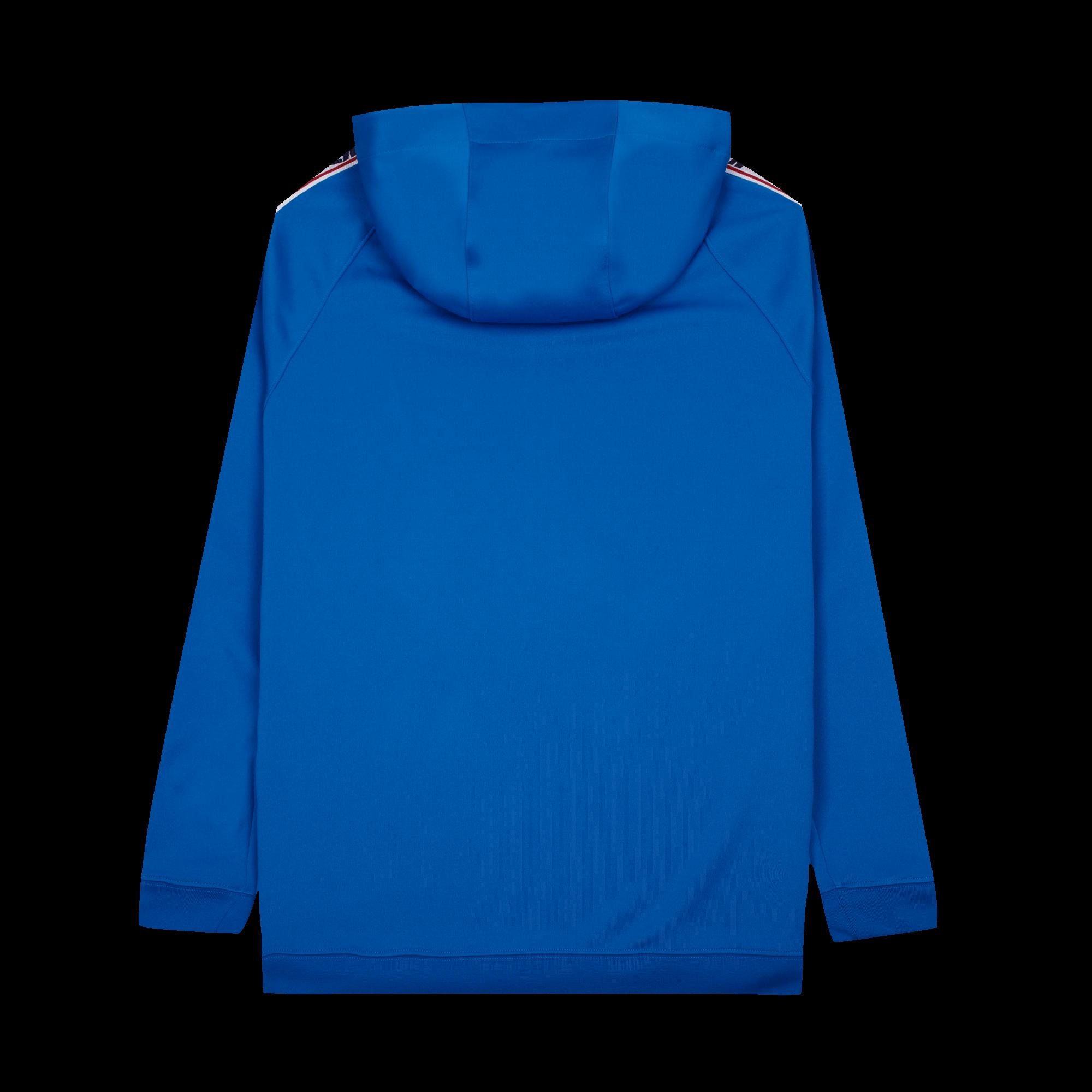 NSW Taped Half Zip Hood Poly blue nebula / gym red / sail