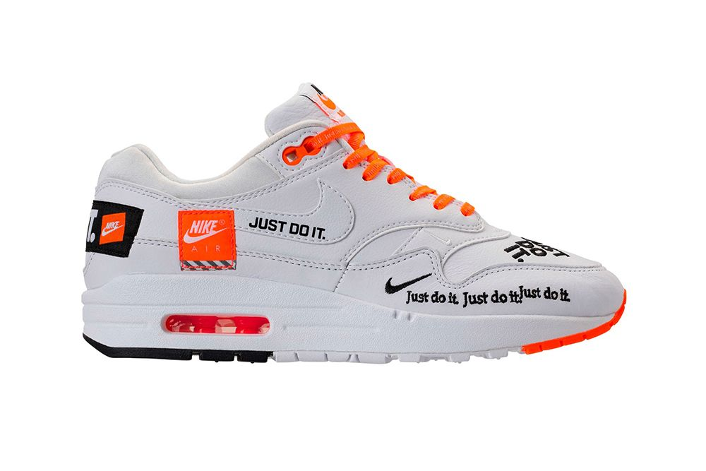 nike air max 1 lux just do it bianca