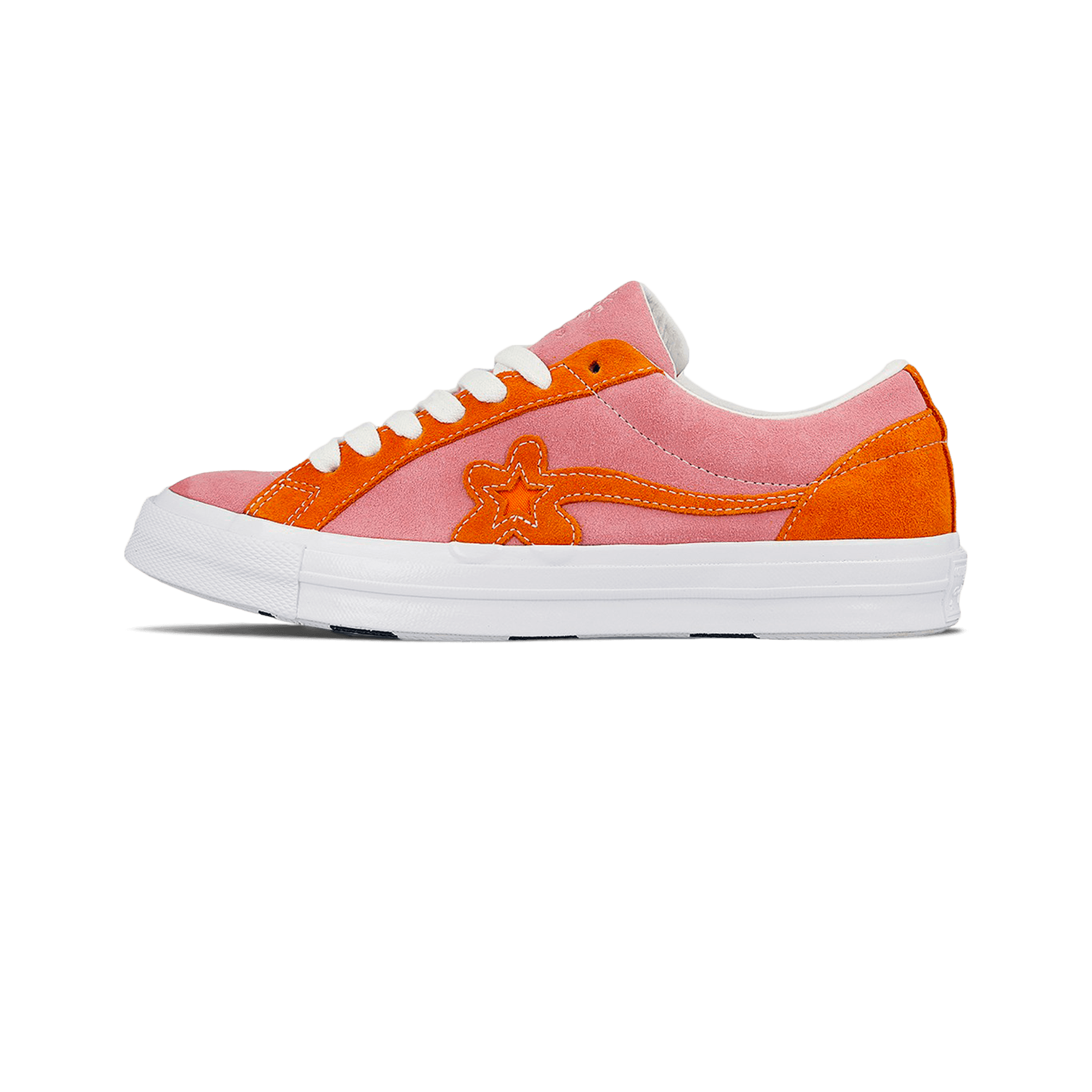 size 7 fast delivery where to buy Converse One Star x Golf Le Fleur candy pink / orange peel - Uomo    Holypopstore.com
