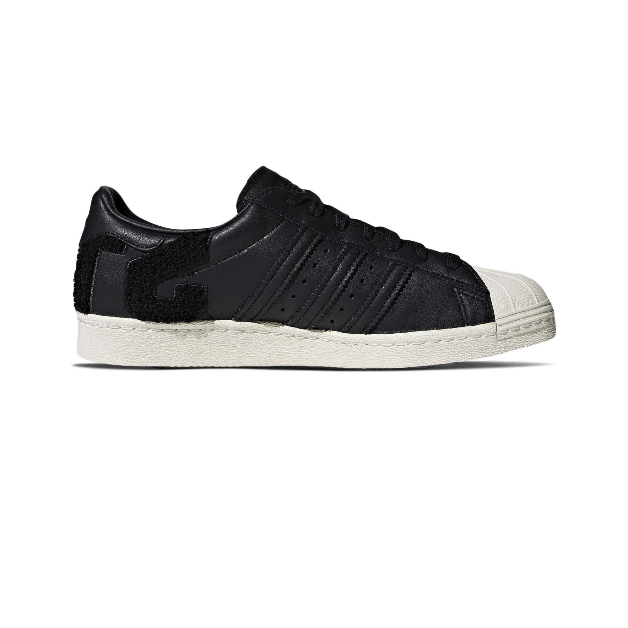 Superstar 80s core black / off white