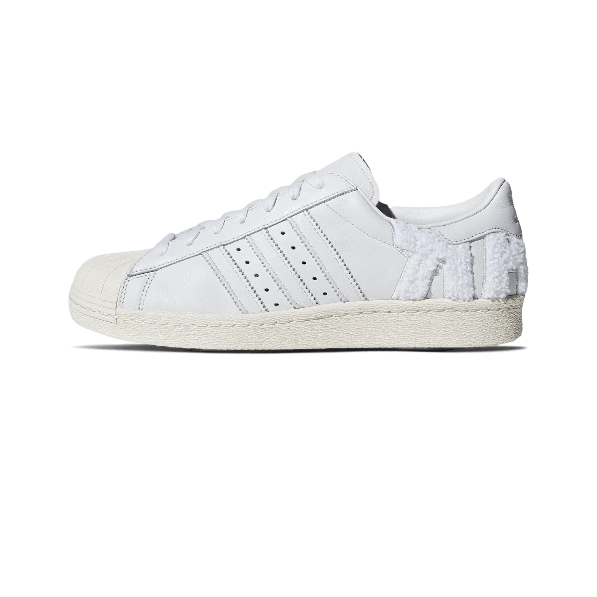 hot sale online 22447 ff998 adidas Superstar 80s crystal white / off white - Men | Holypopstore.com