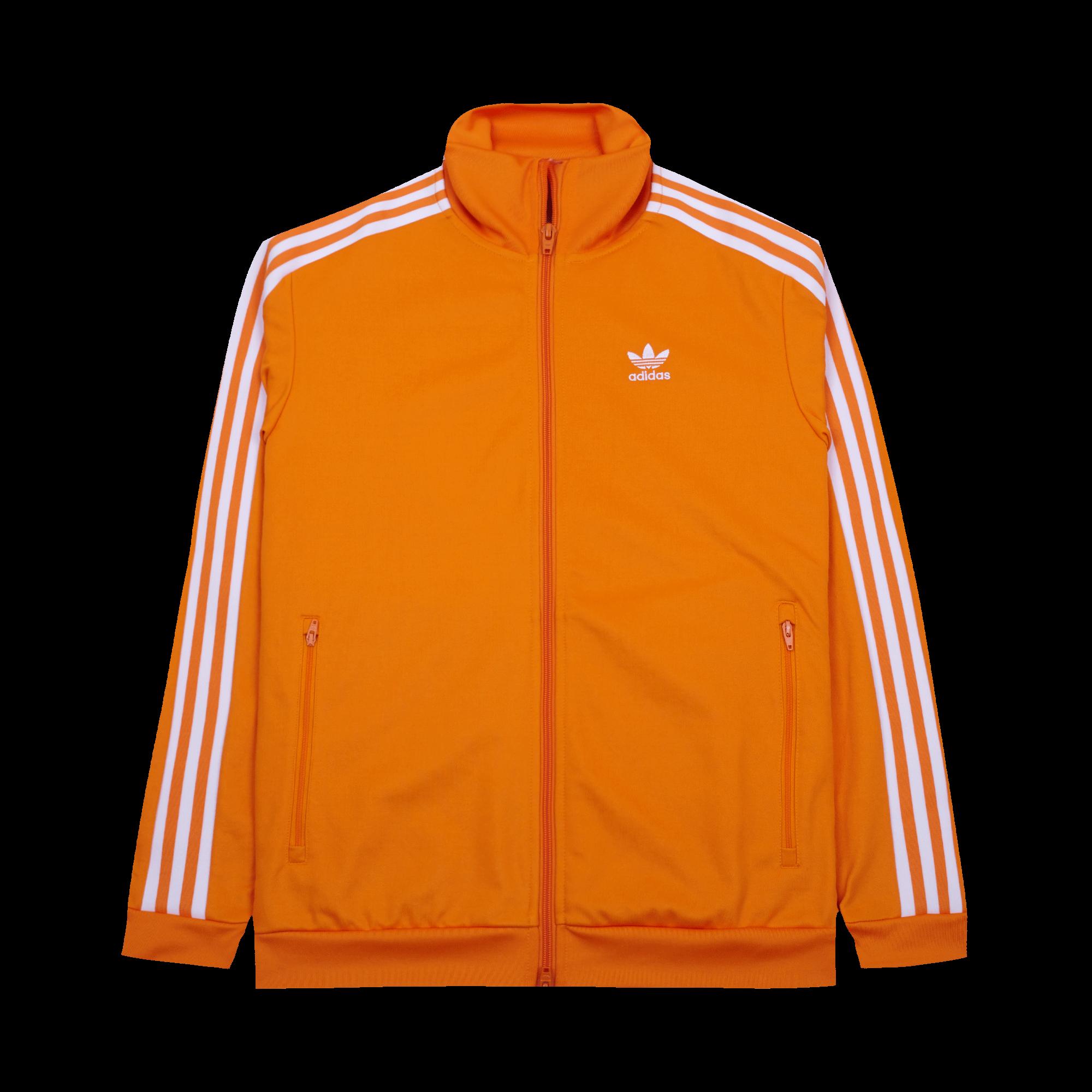 adidas Beckenbauer TT Jacke orange