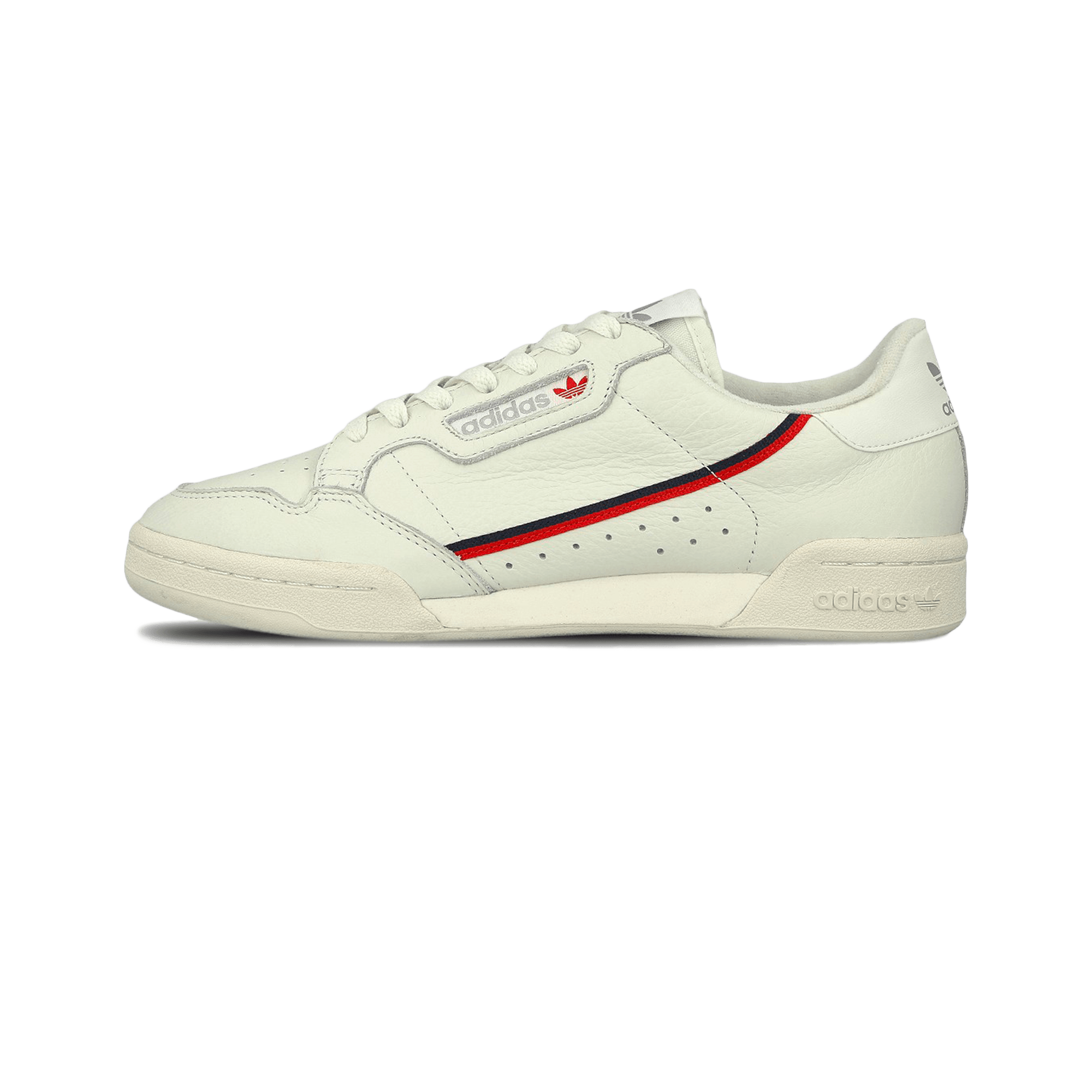 adidas Continental 80 beige / off white / scarlet - Men | Holypopstore.com