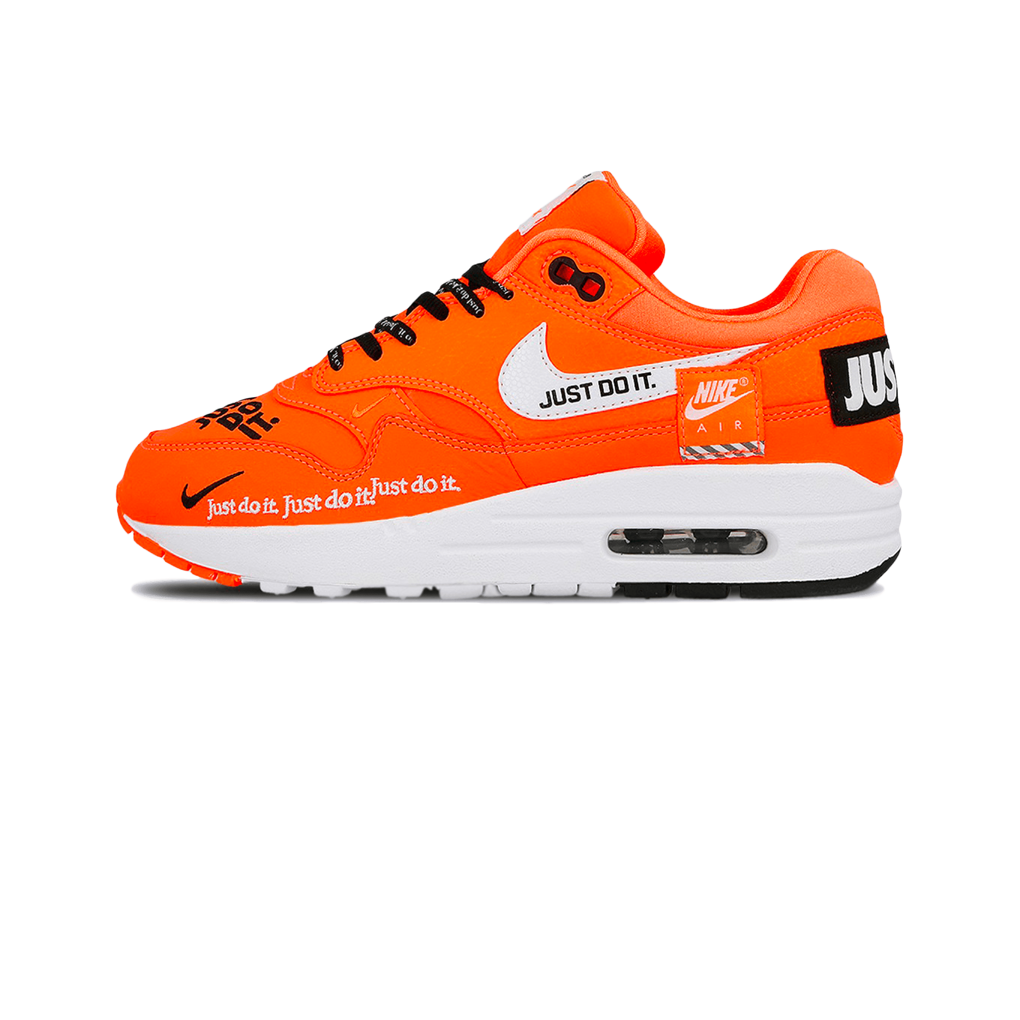 Air Max 1 Lux Just Do It W total orange / white / black
